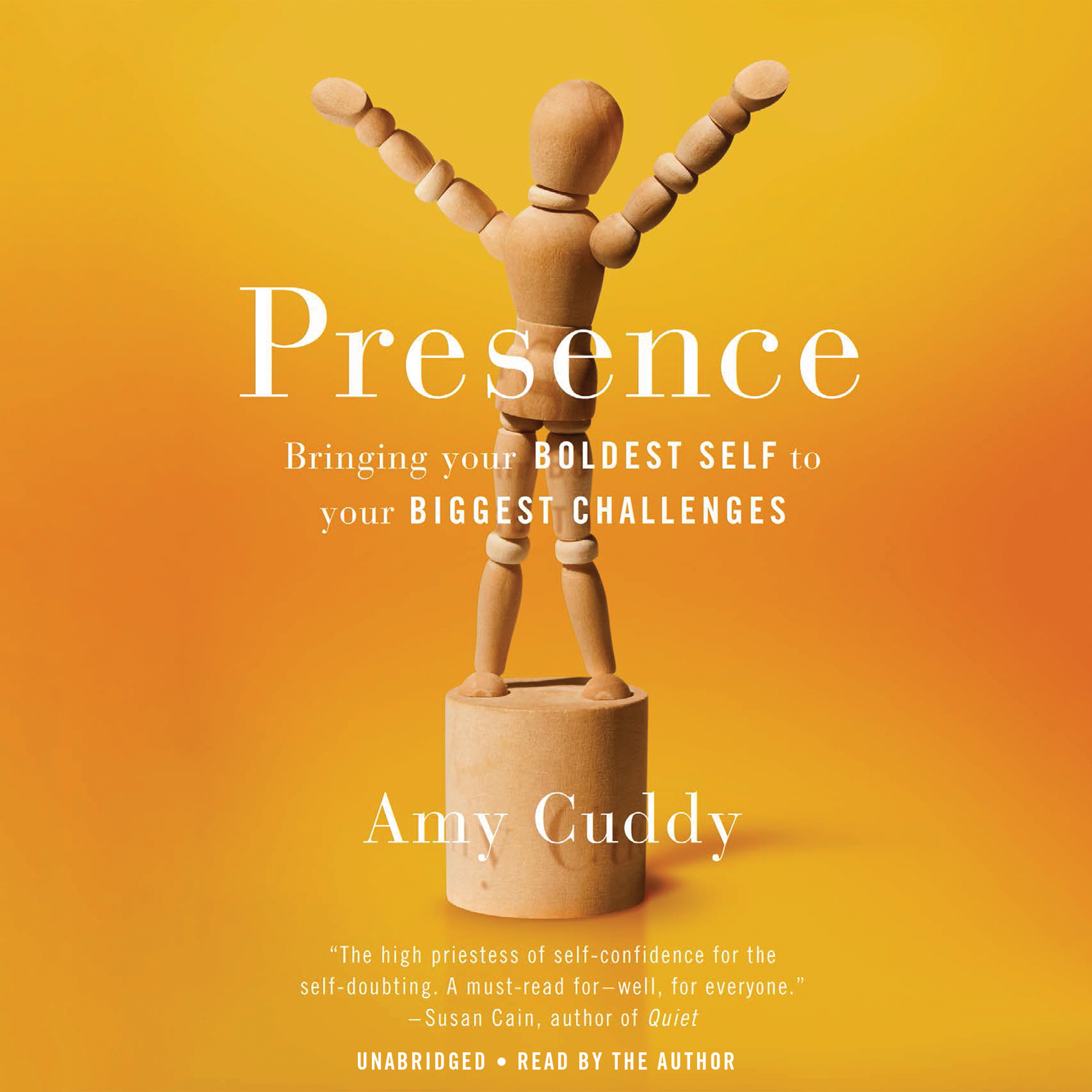 Printable Presence: Bringing Your Boldest Self to Your Biggest Challenges Audiobook Cover Art