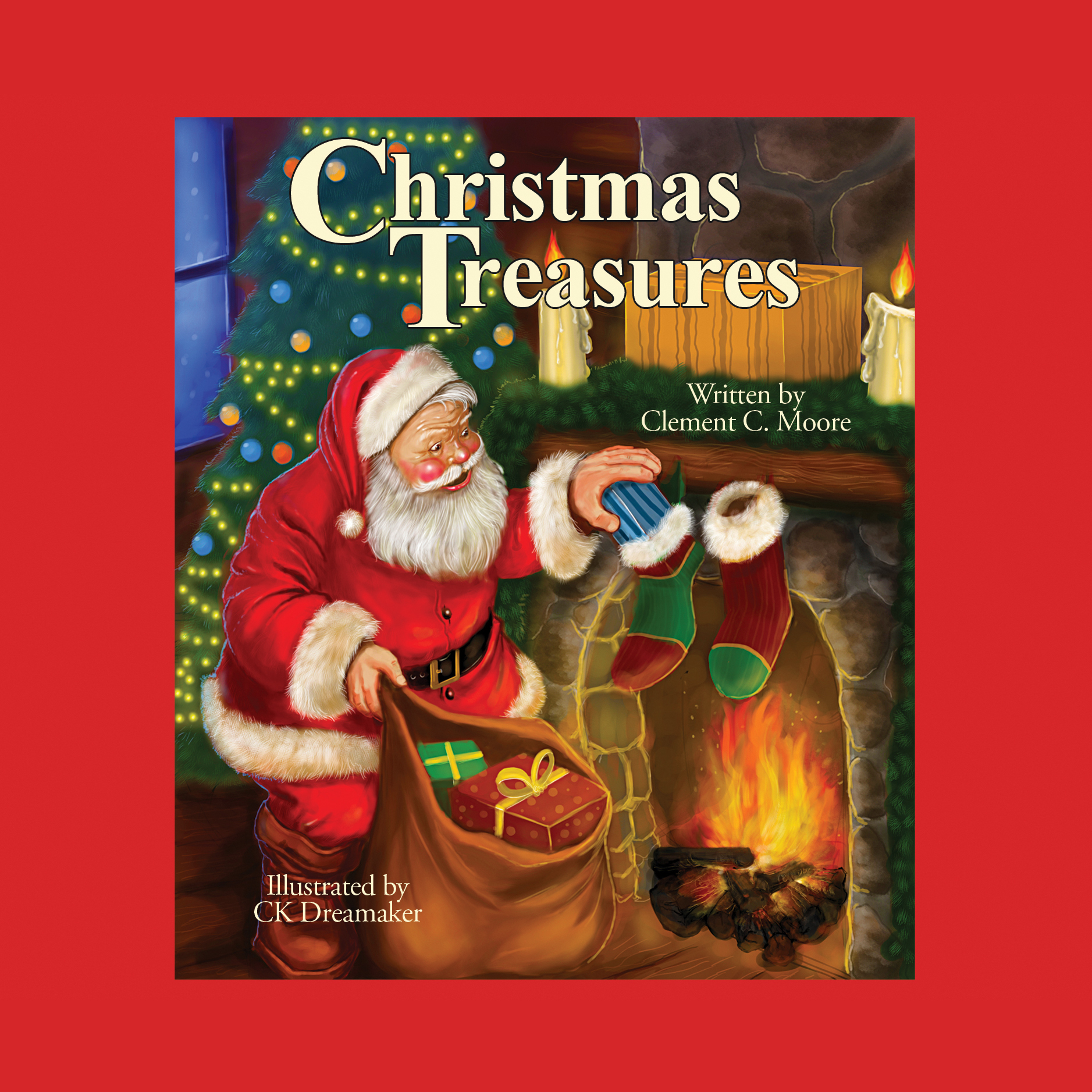 Printable Christmas Treasures Audiobook Cover Art