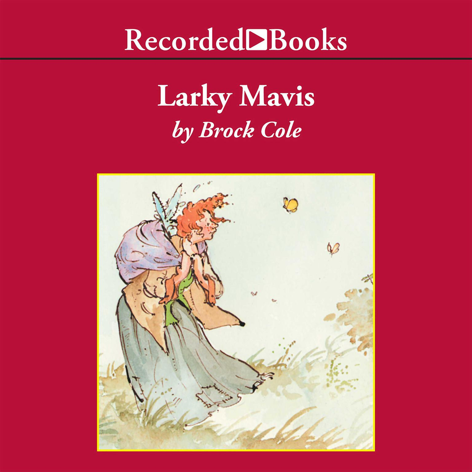 Printable Larky Mavis Audiobook Cover Art