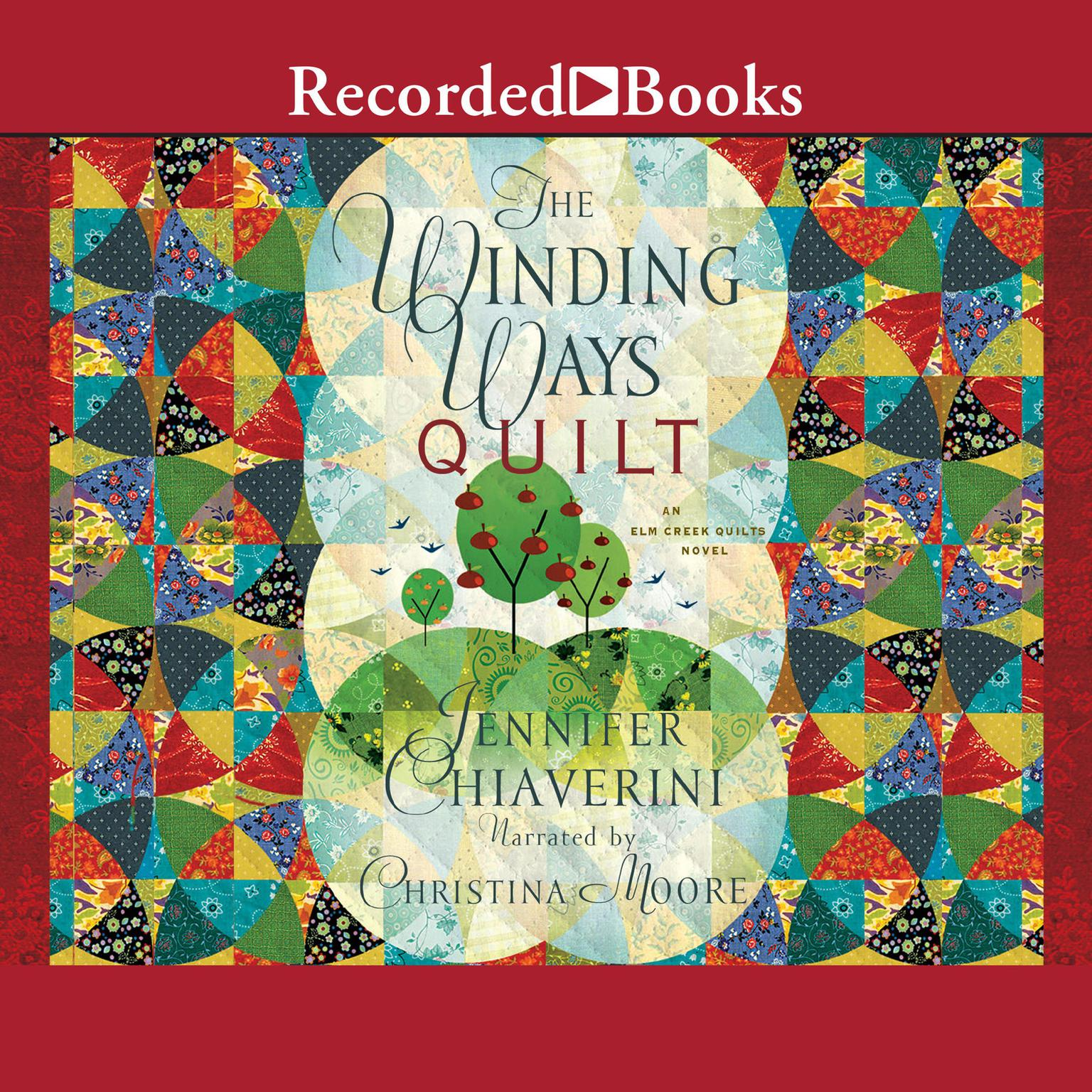 Printable The Winding Ways Quilt Audiobook Cover Art