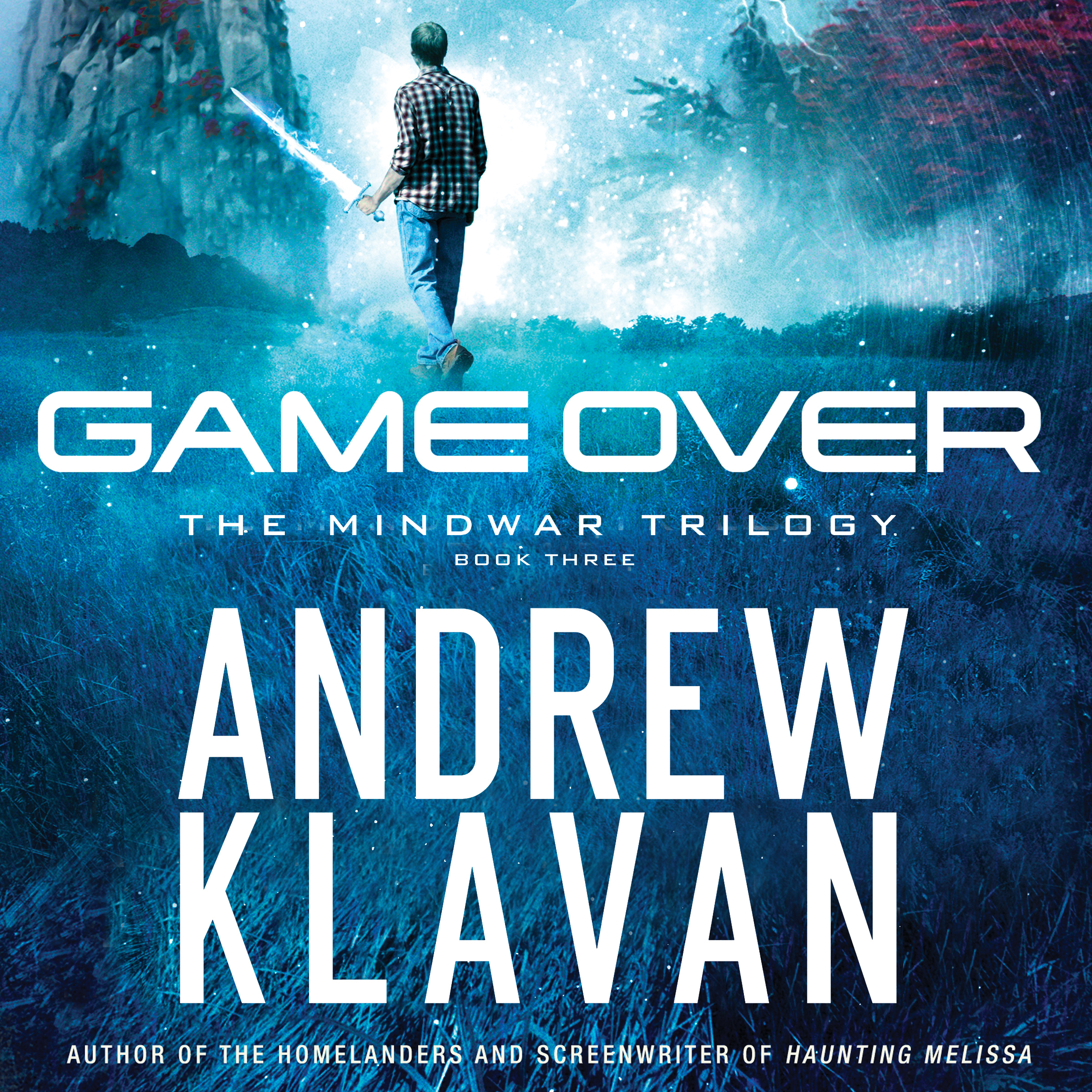 Printable Game Over Audiobook Cover Art