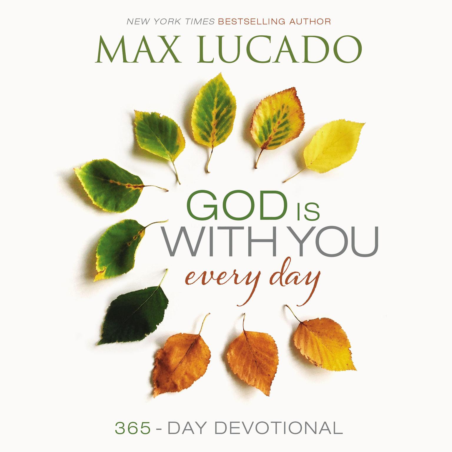Printable God Is with You Every Day: 365 Day Devotional Audiobook Cover Art