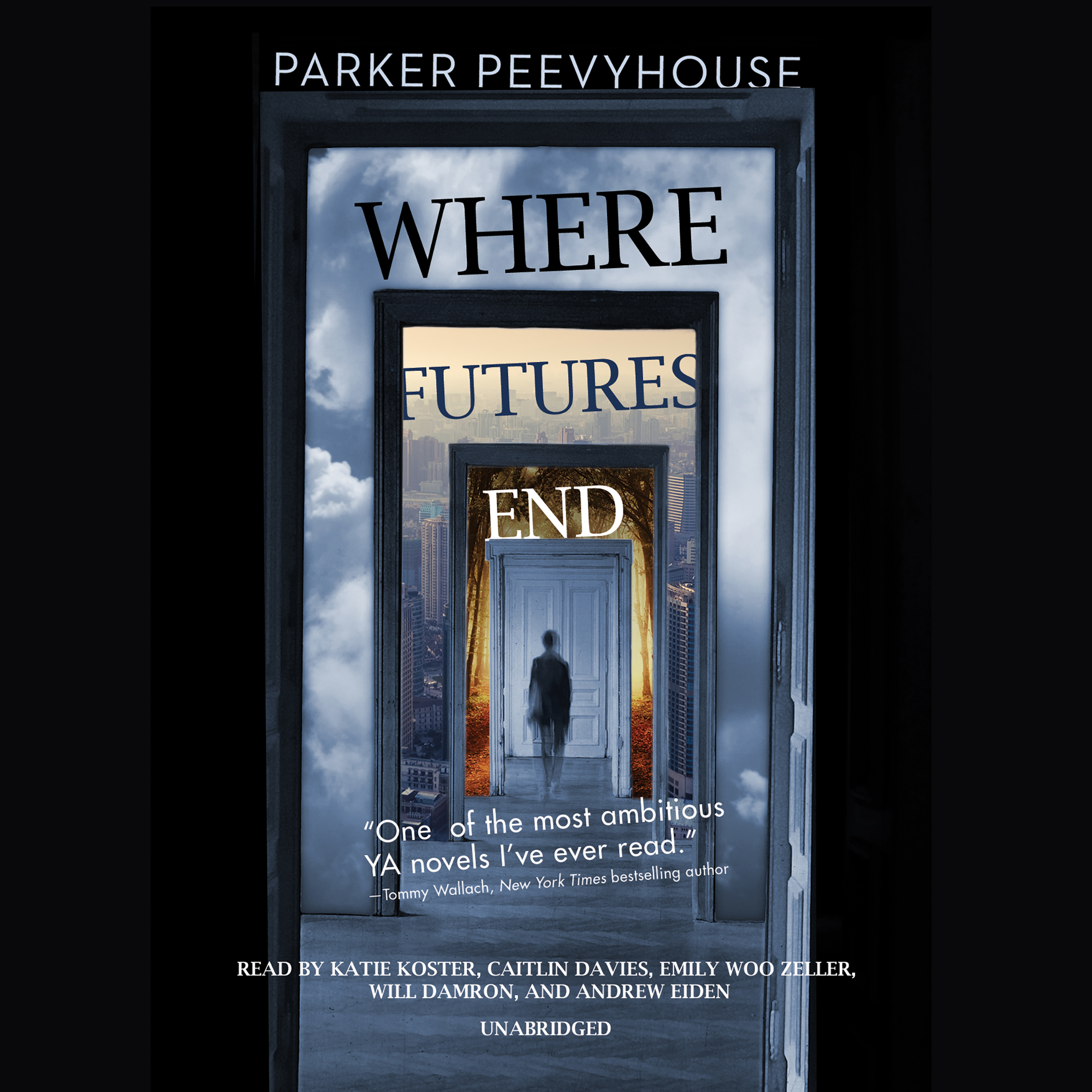 Printable Where Futures End Audiobook Cover Art