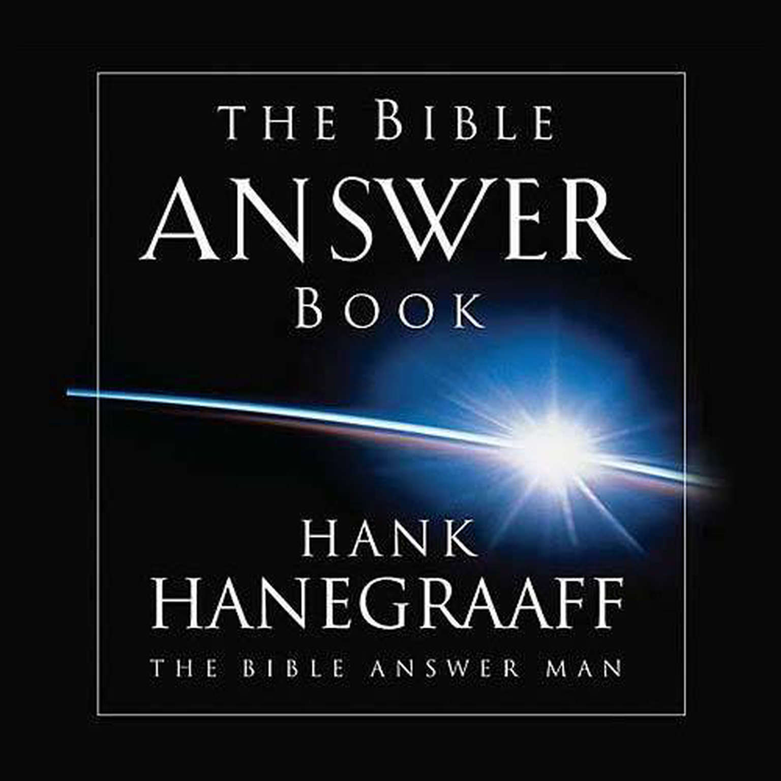 Printable The Bible Answer Book: From the Bible Answer Man Audiobook Cover Art