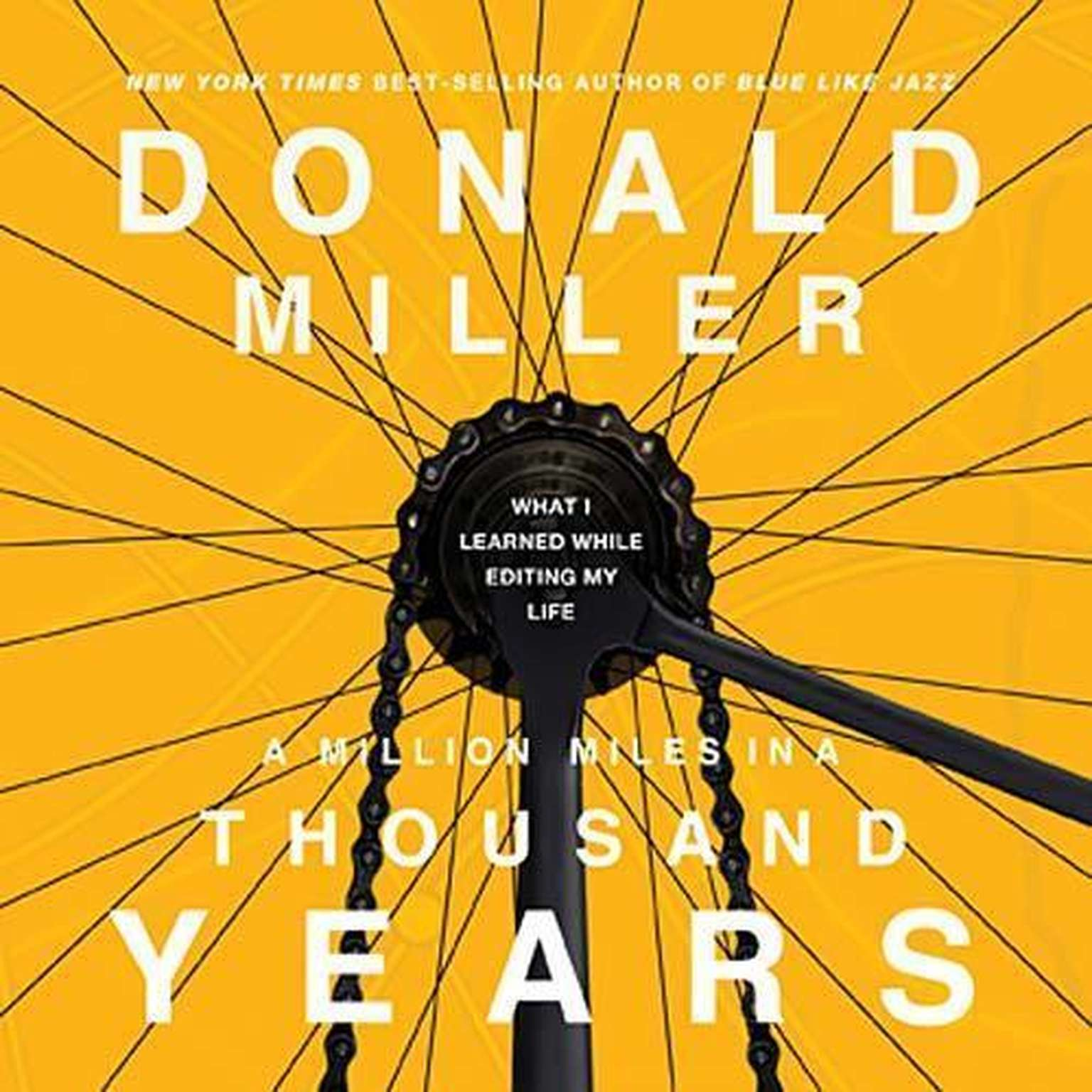 Printable A Million Miles in a Thousand Years: What I Learned While Editing My Life Audiobook Cover Art