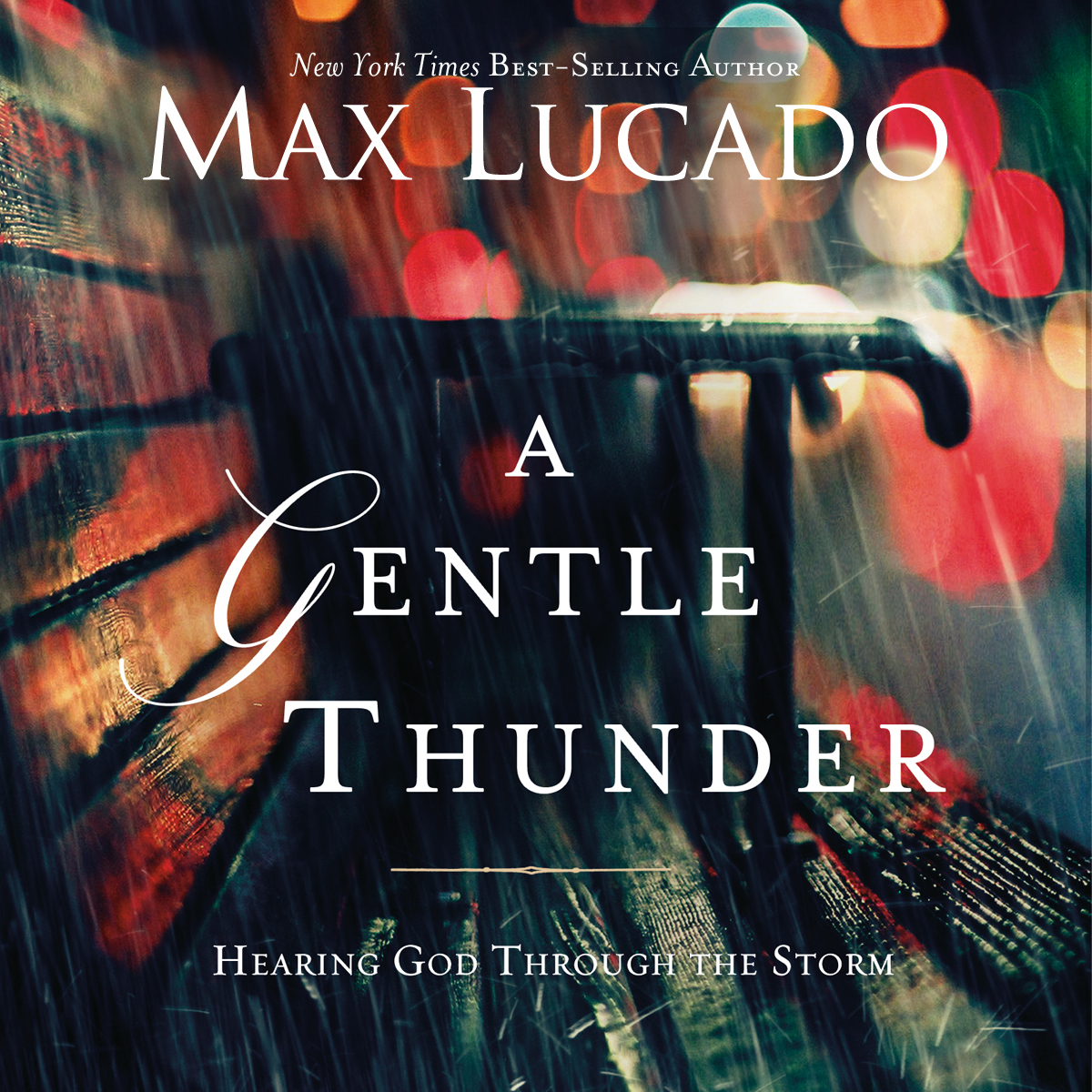 Printable A Gentle Thunder: Hearing God through the Storm Audiobook Cover Art