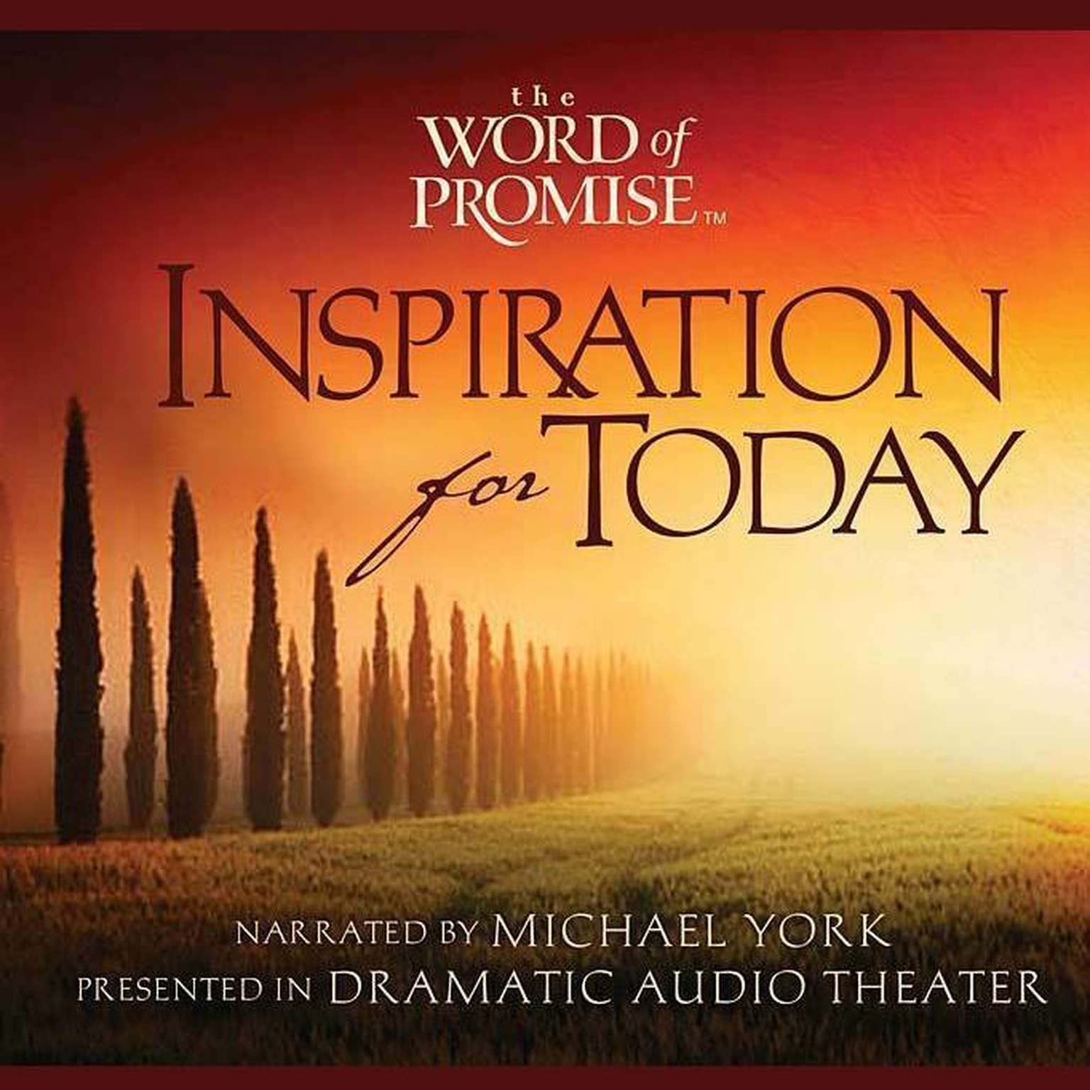 Printable The Word of Promise: Inspiration For Today Audiobook Cover Art