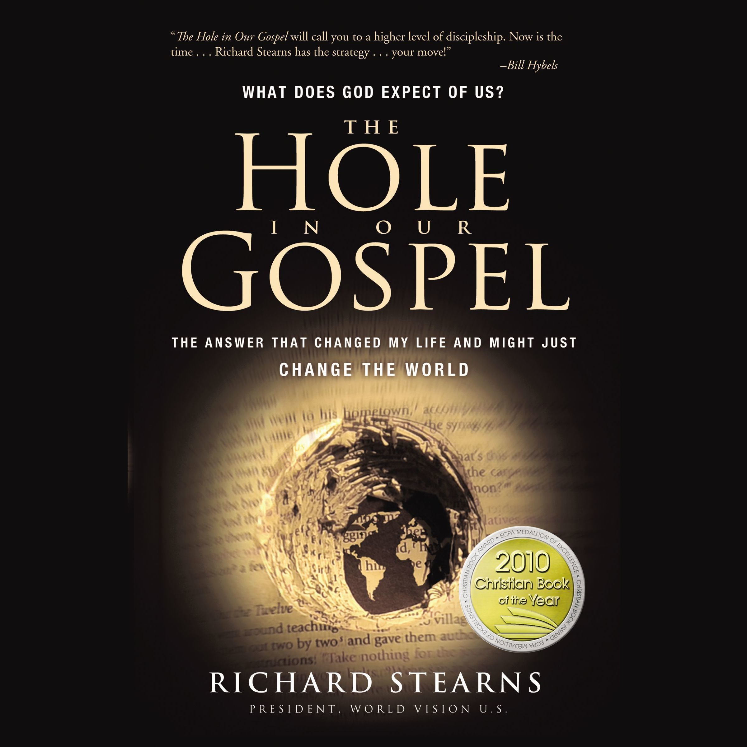 Printable The Hole in Our Gospel Audiobook Cover Art
