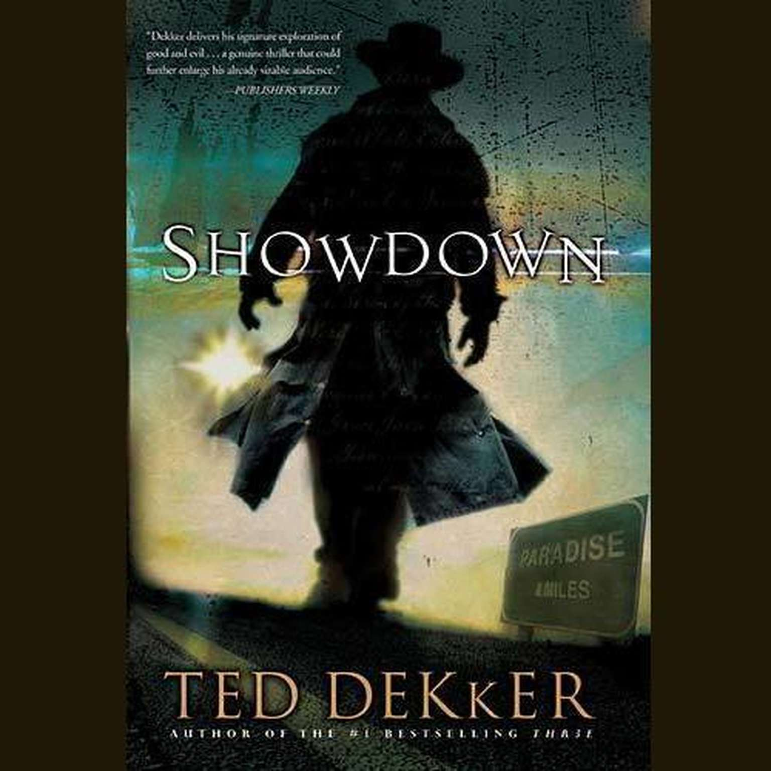 Printable Showdown Audiobook Cover Art