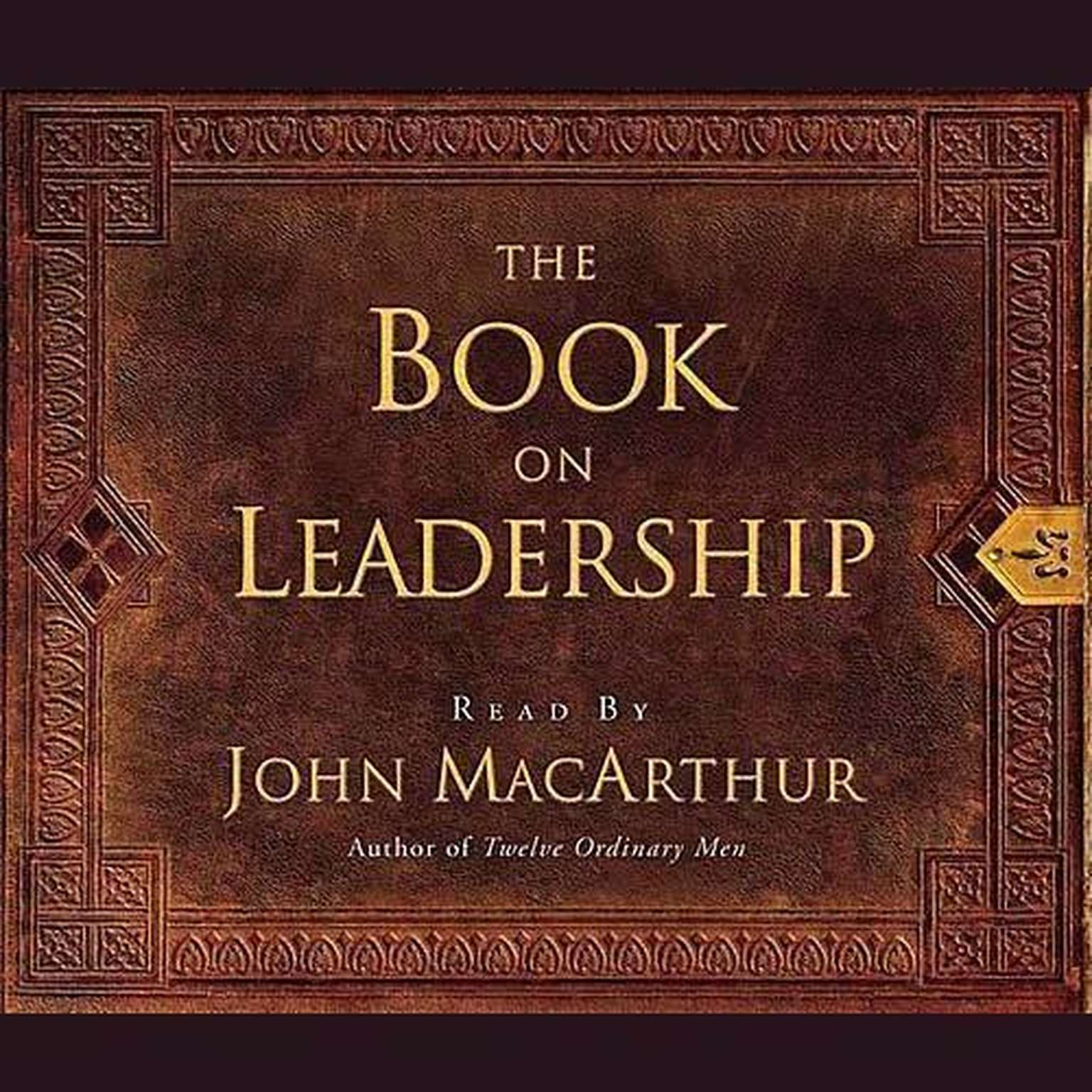 Printable The Book on Leadership Audiobook Cover Art