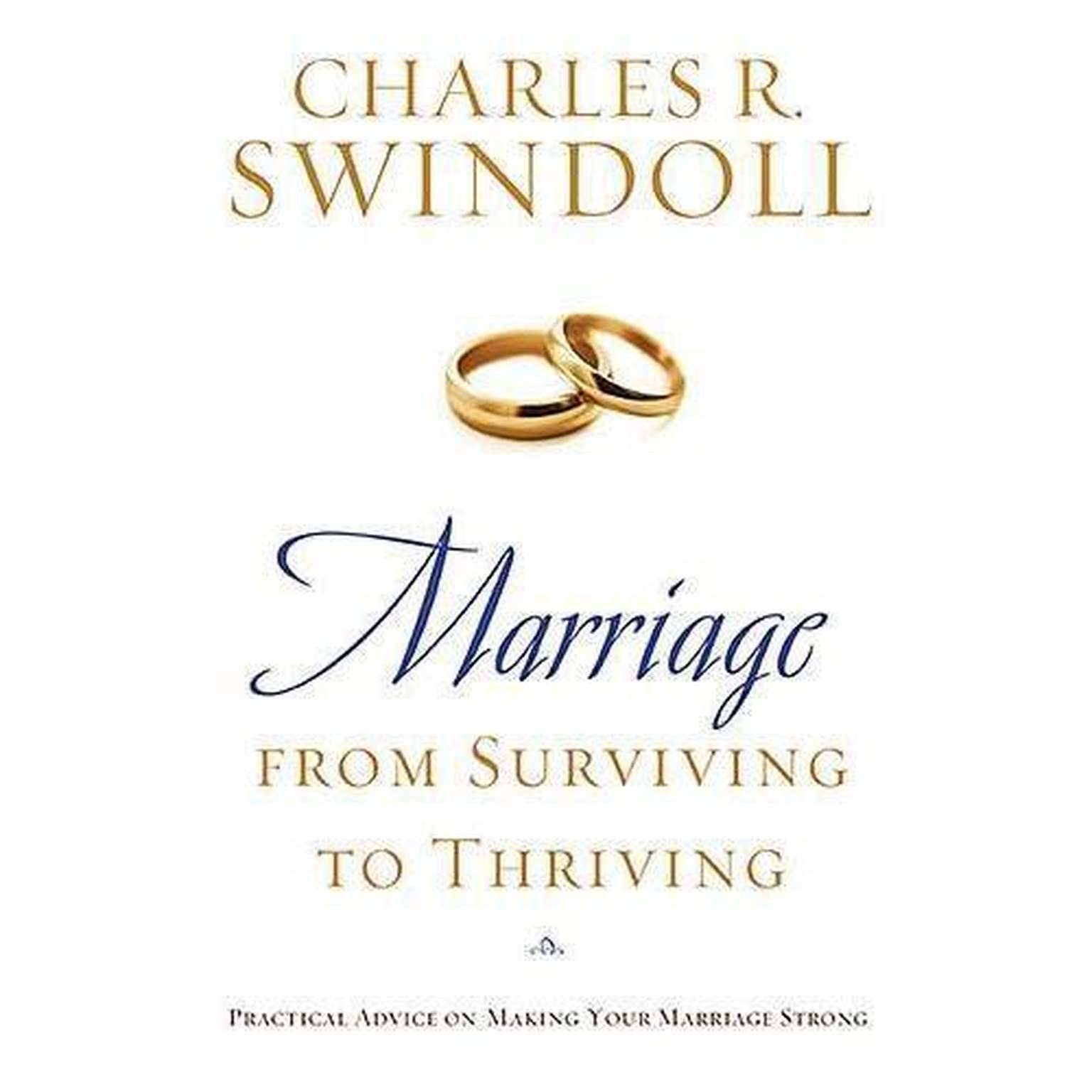 Printable Marriage: From Surviving to Thriving: Practical Advice on Making Your Marriage Strong Audiobook Cover Art