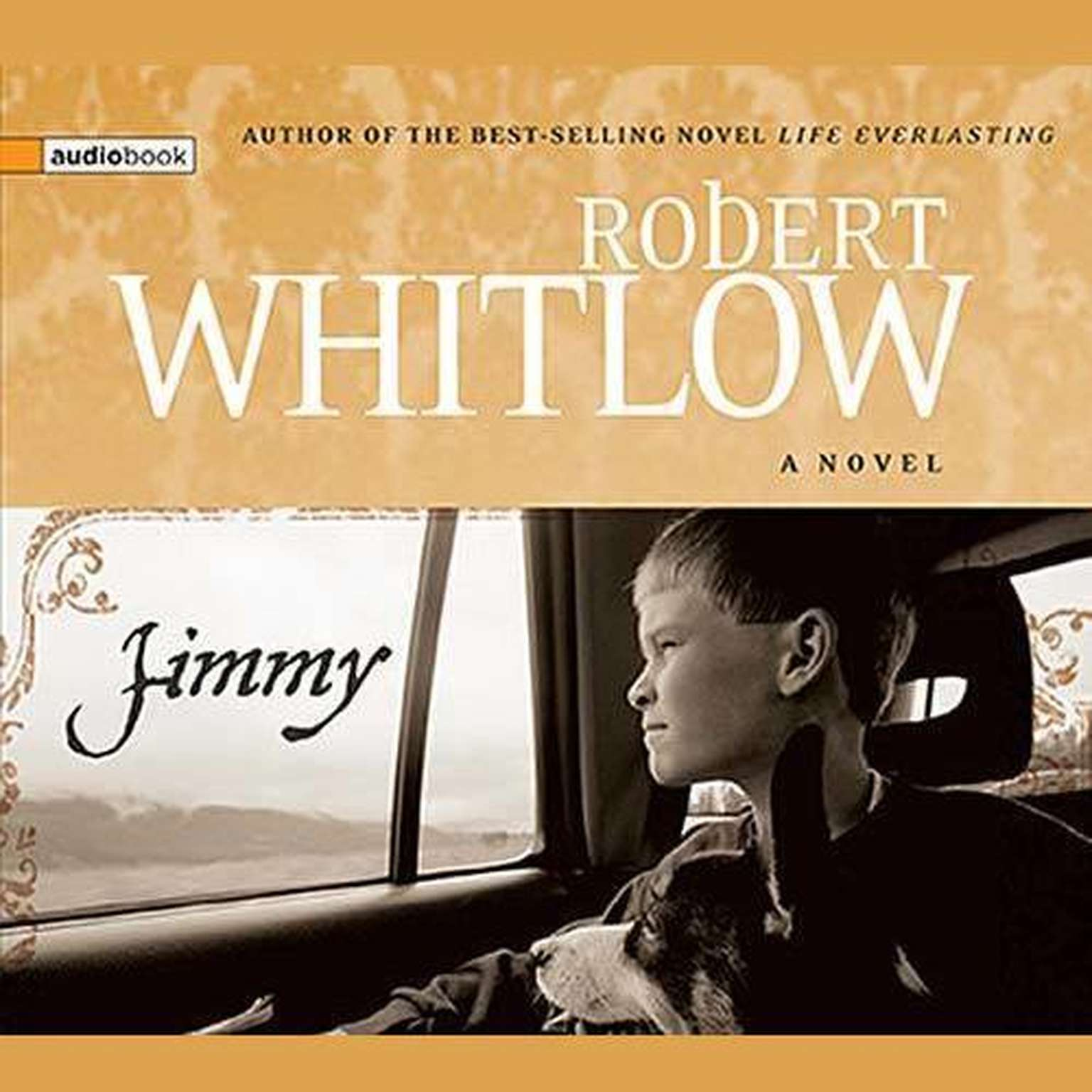 Printable Jimmy Audiobook Cover Art