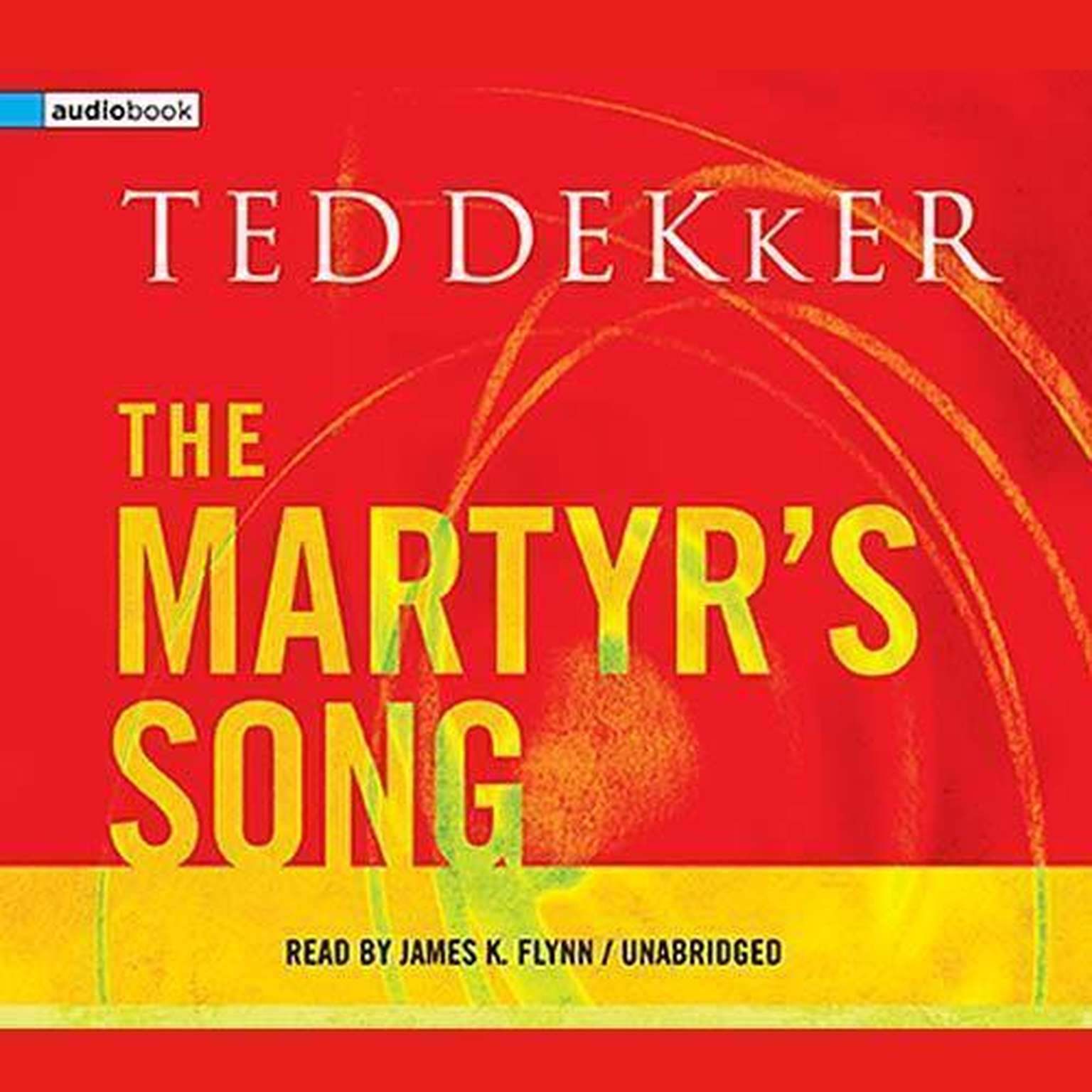 Printable The Martyr's Song Audiobook Cover Art