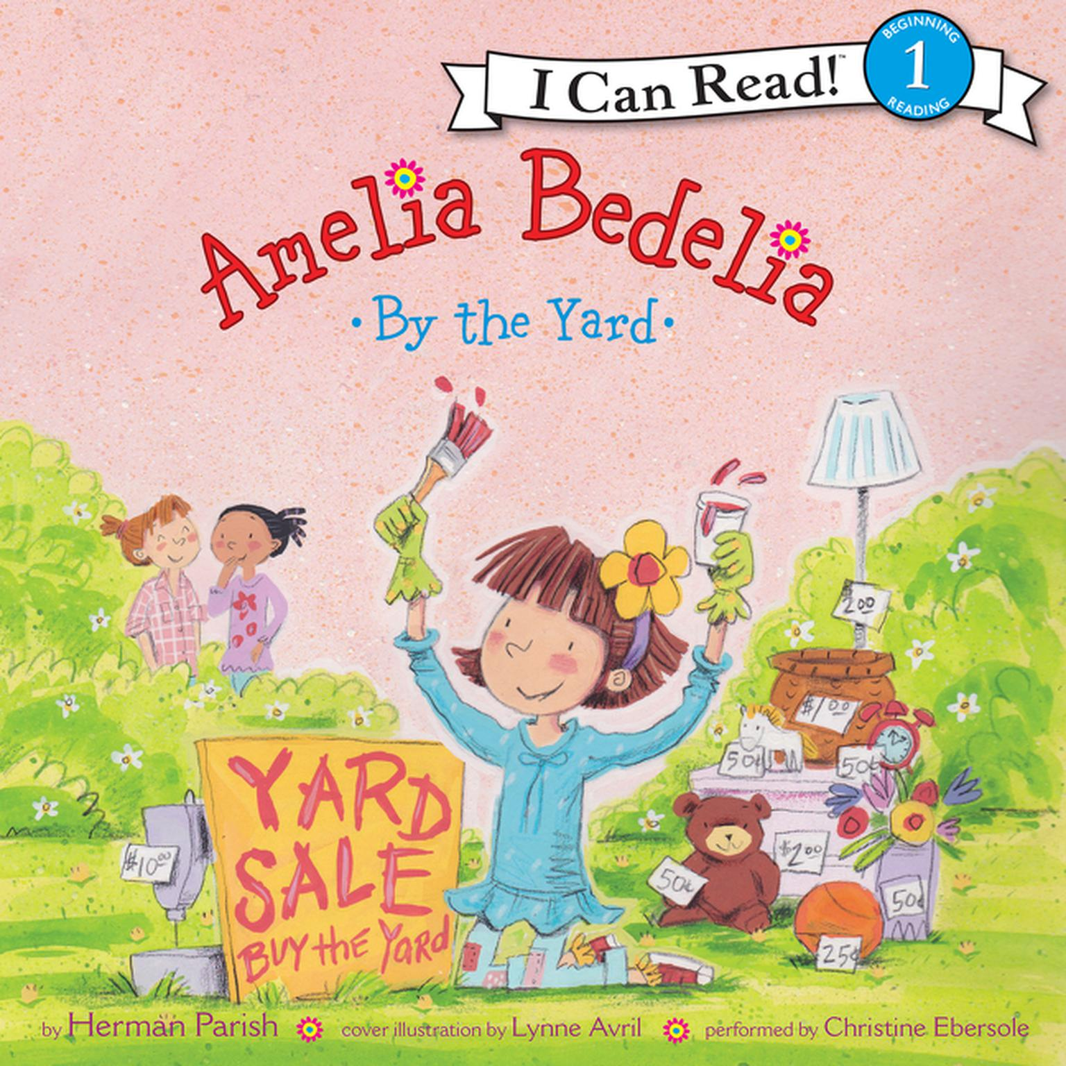 Printable Amelia Bedelia by the Yard Audiobook Cover Art