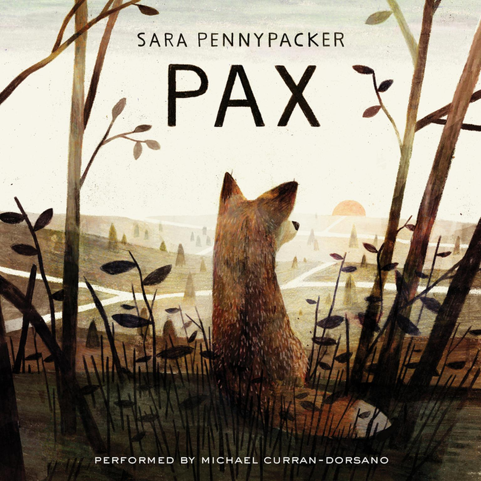 Printable Pax Audiobook Cover Art