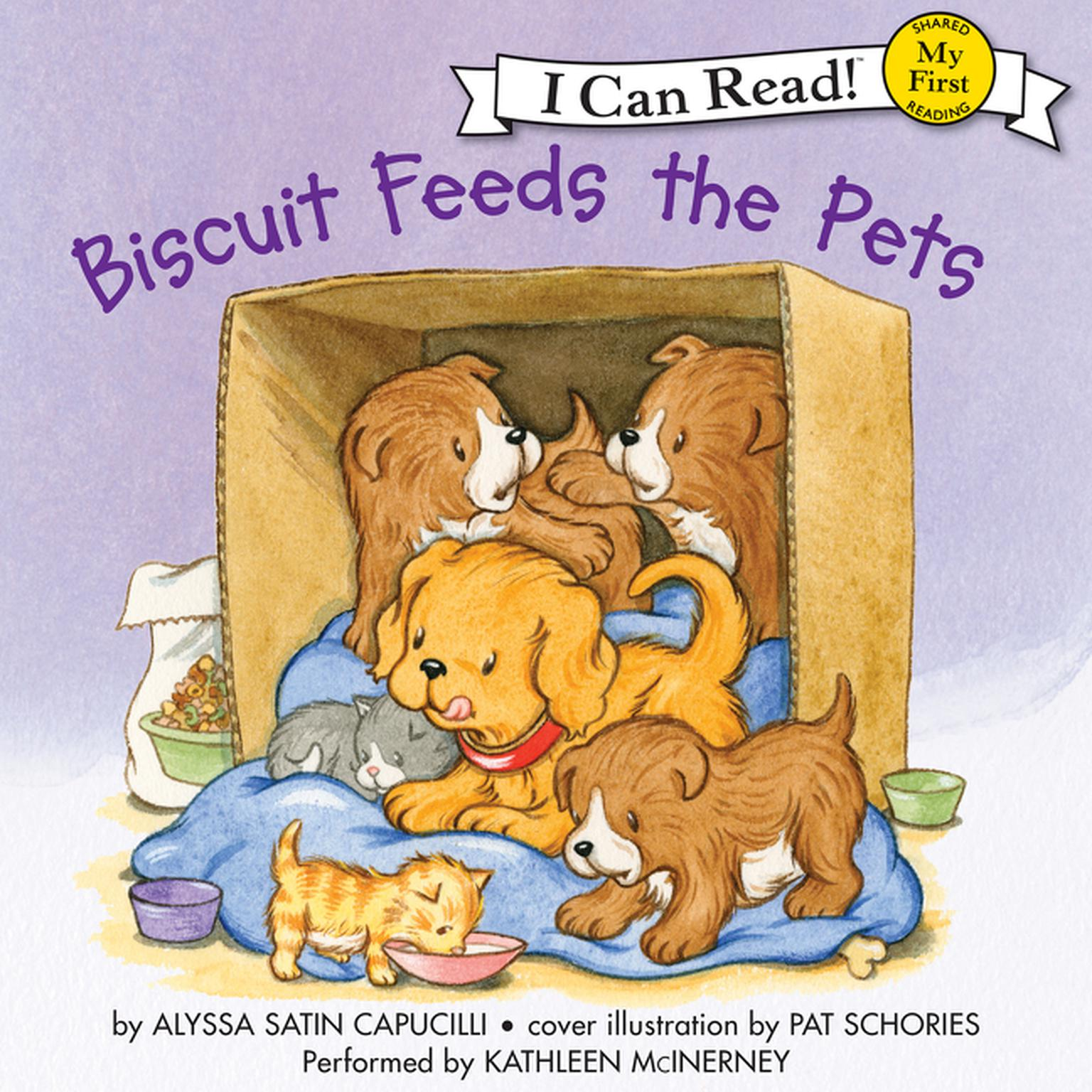 Printable Biscuit Feeds the Pets Audiobook Cover Art