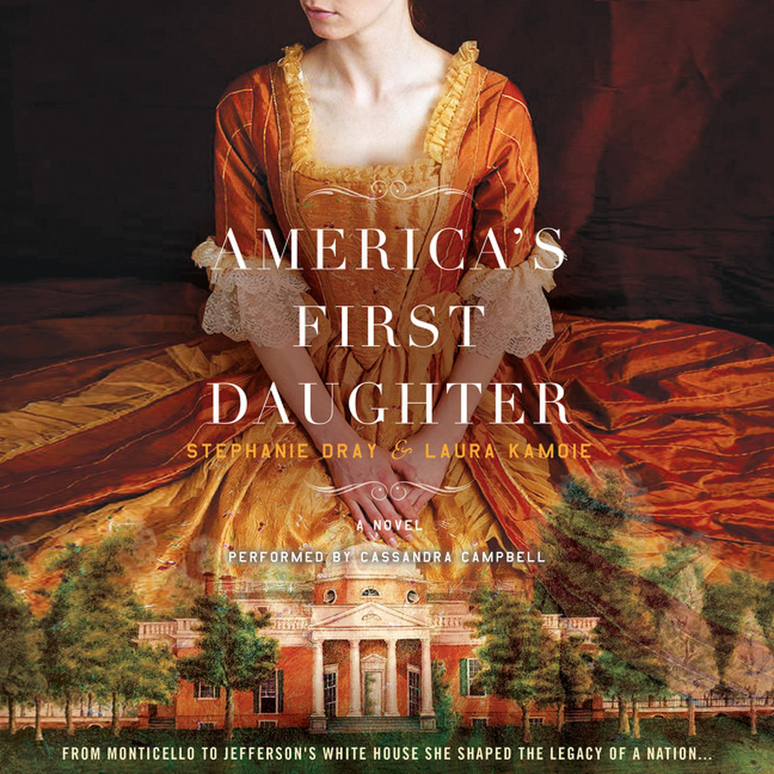 Printable America's First Daughter: A Novel Audiobook Cover Art