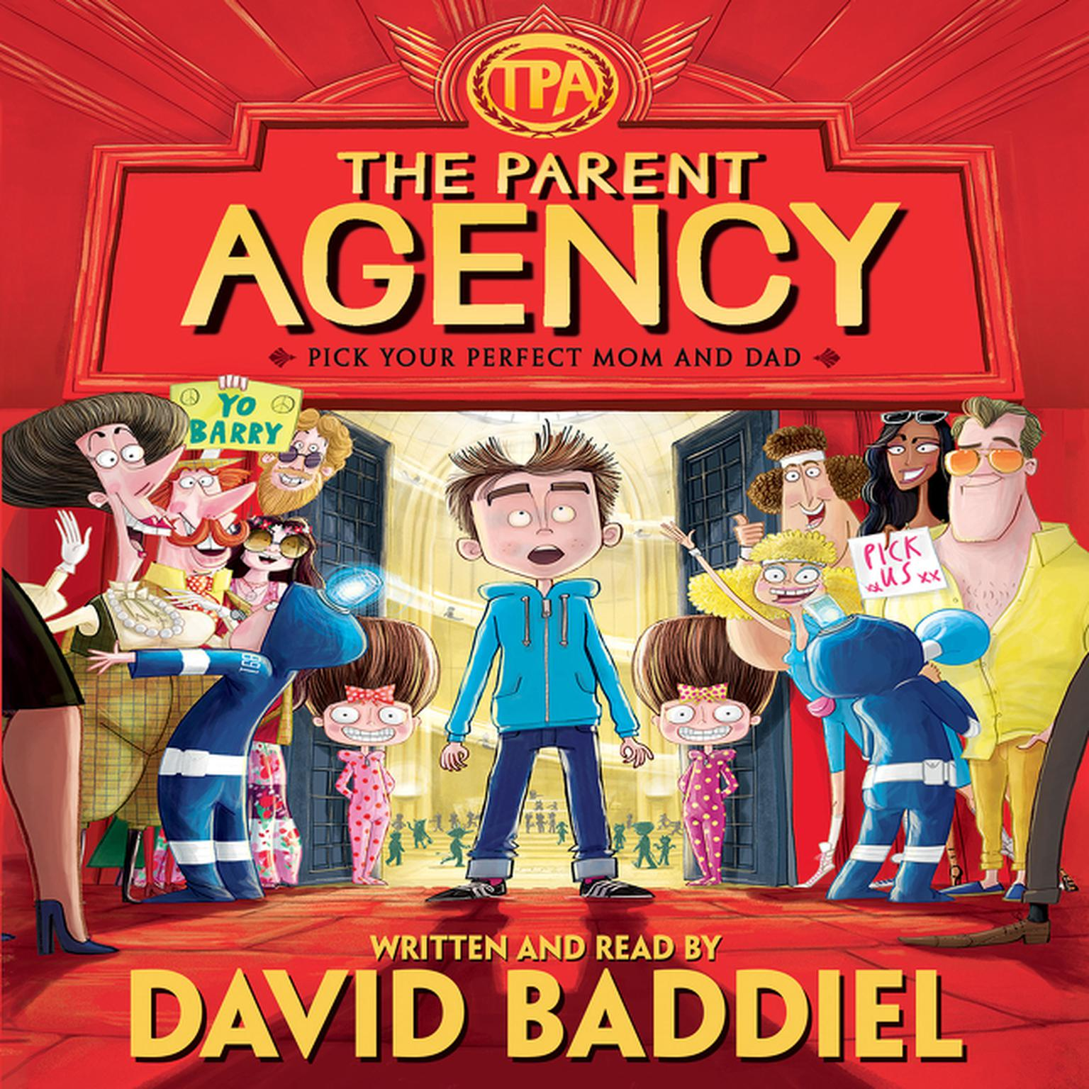 Printable The Parent Agency Audiobook Cover Art
