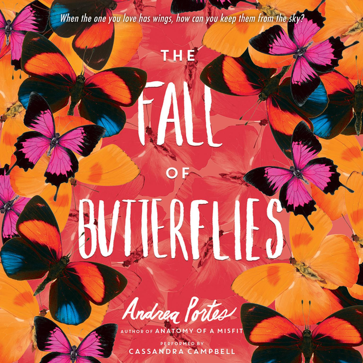 Printable The Fall of Butterflies Audiobook Cover Art