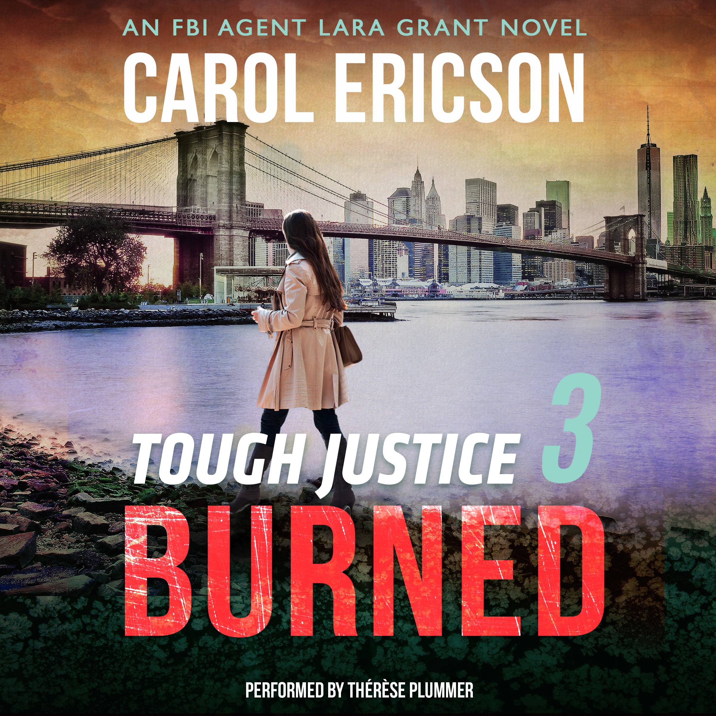 Printable Tough Justice: Burned Audiobook Cover Art
