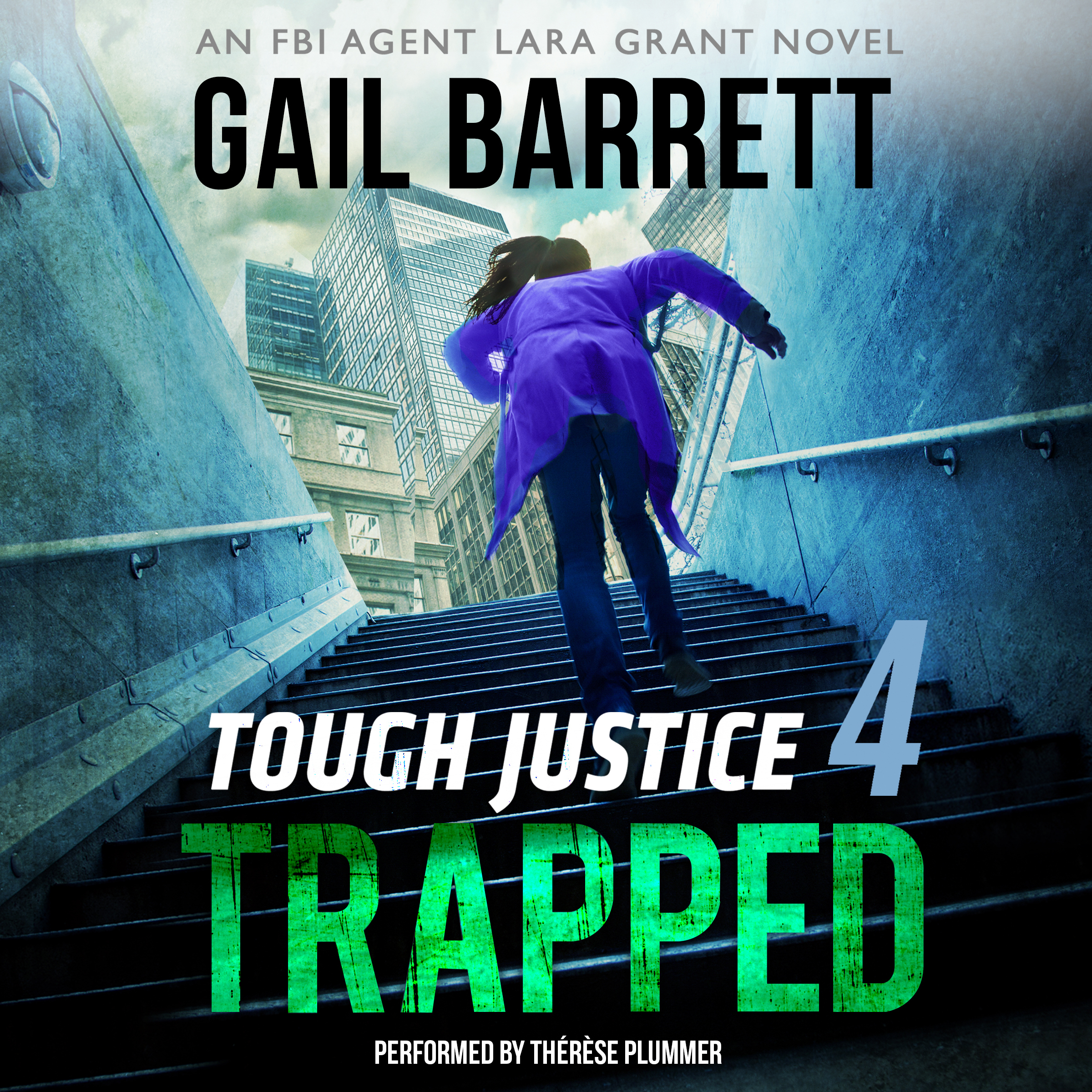 Printable Tough Justice: Trapped Audiobook Cover Art