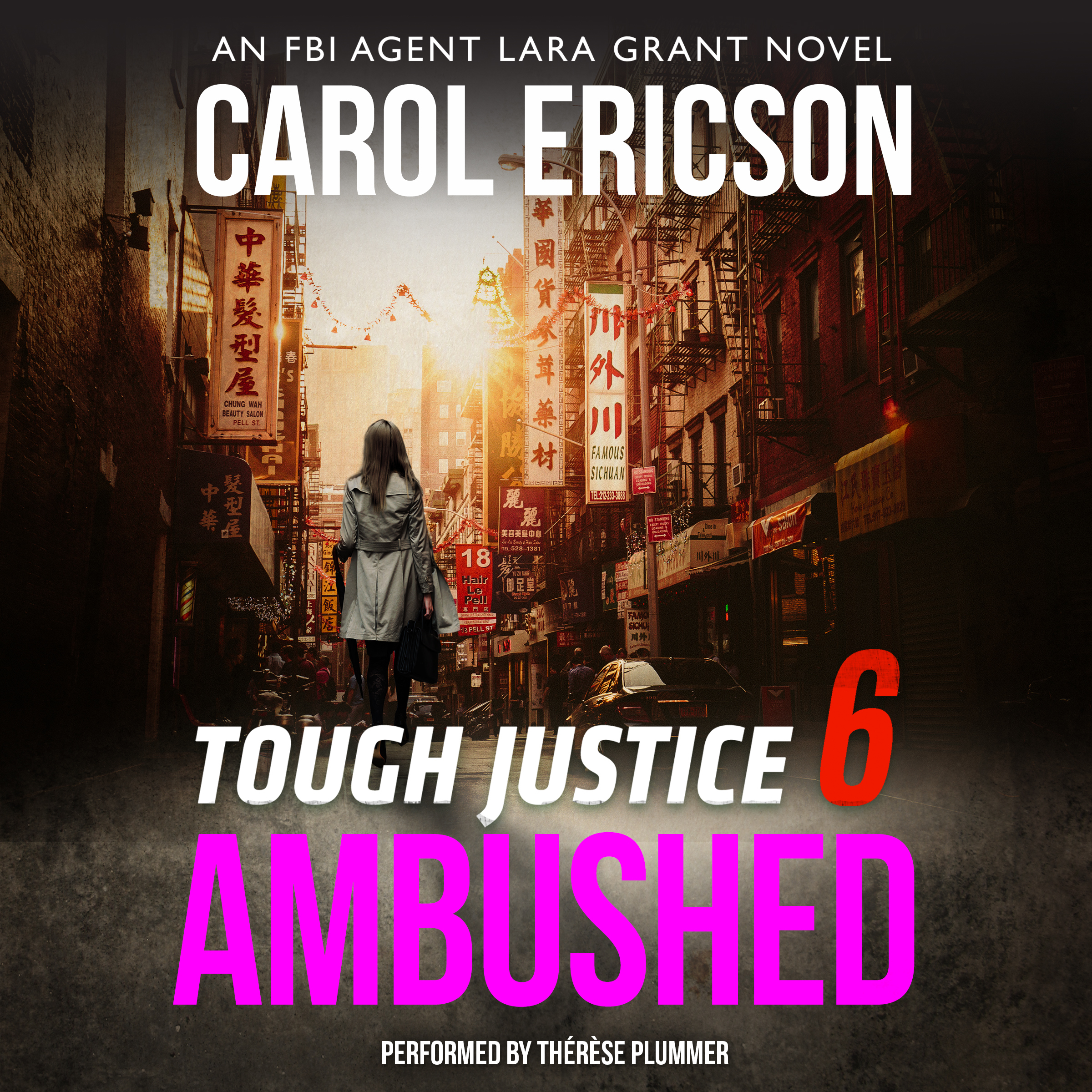 Printable Tough Justice: Ambushed Audiobook Cover Art