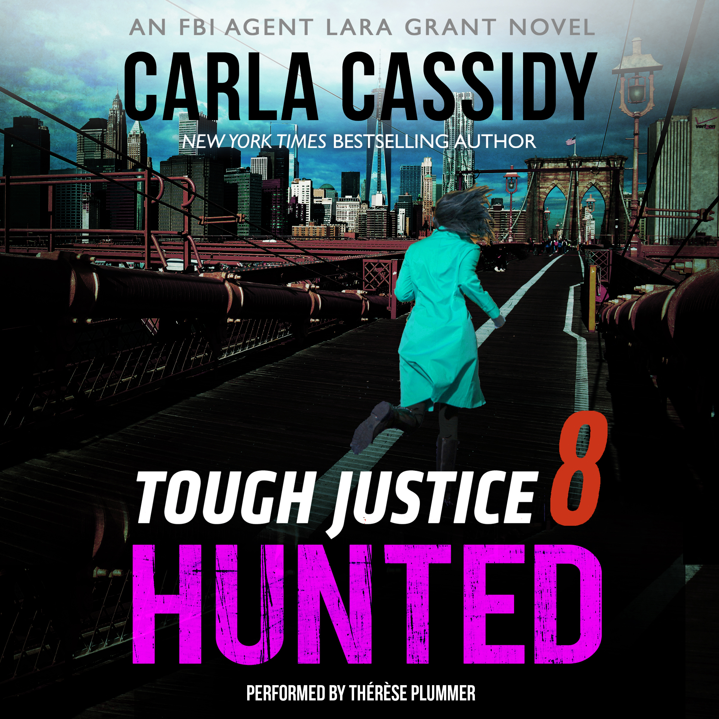 Printable Tough Justice: Hunted  Audiobook Cover Art