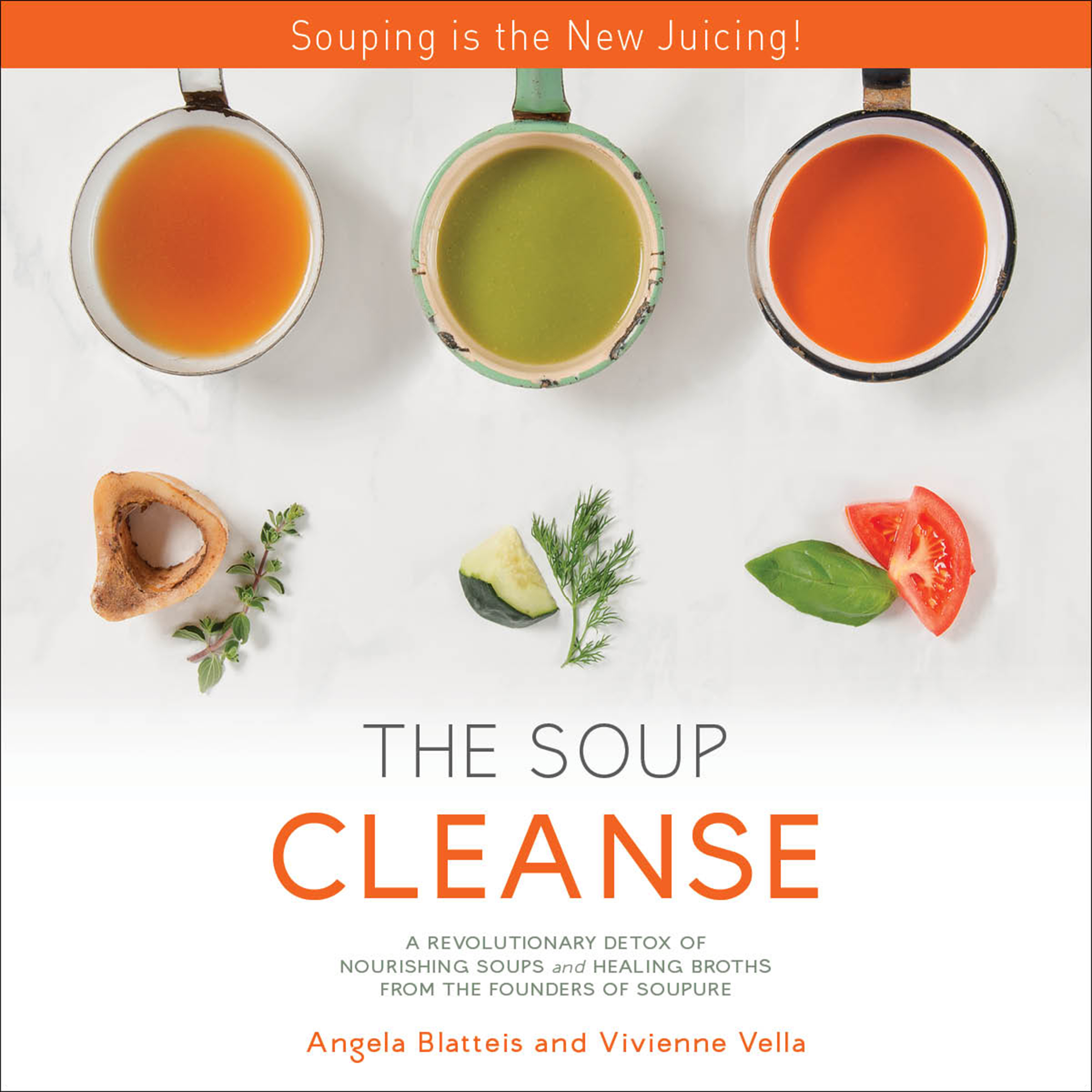 Printable The Soup Cleanse: A Revolutionary Detox of Nourishing Soups and Healing Broths from the Founders of Soupure Audiobook Cover Art