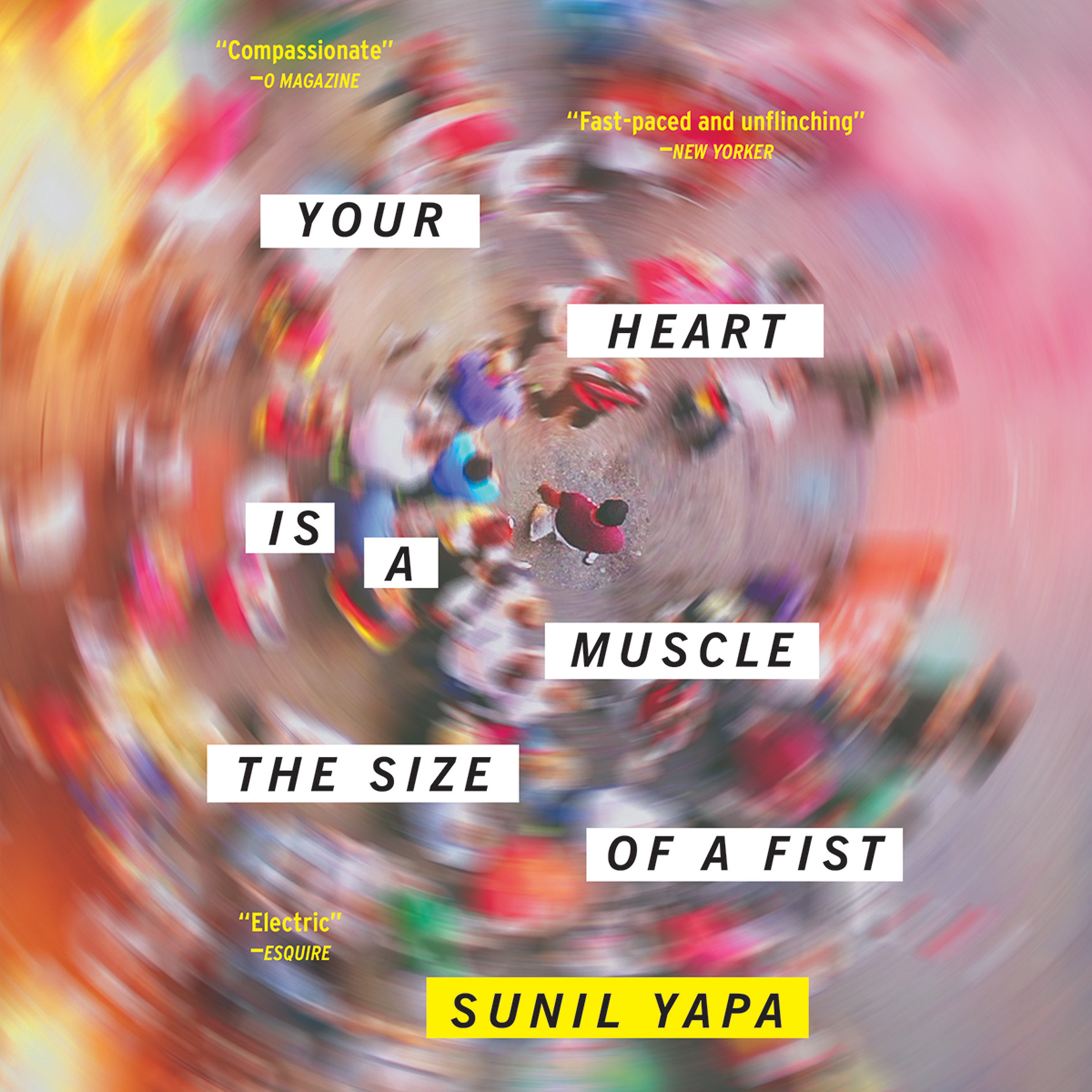 Printable Your Heart Is a Muscle the Size of a Fist Audiobook Cover Art