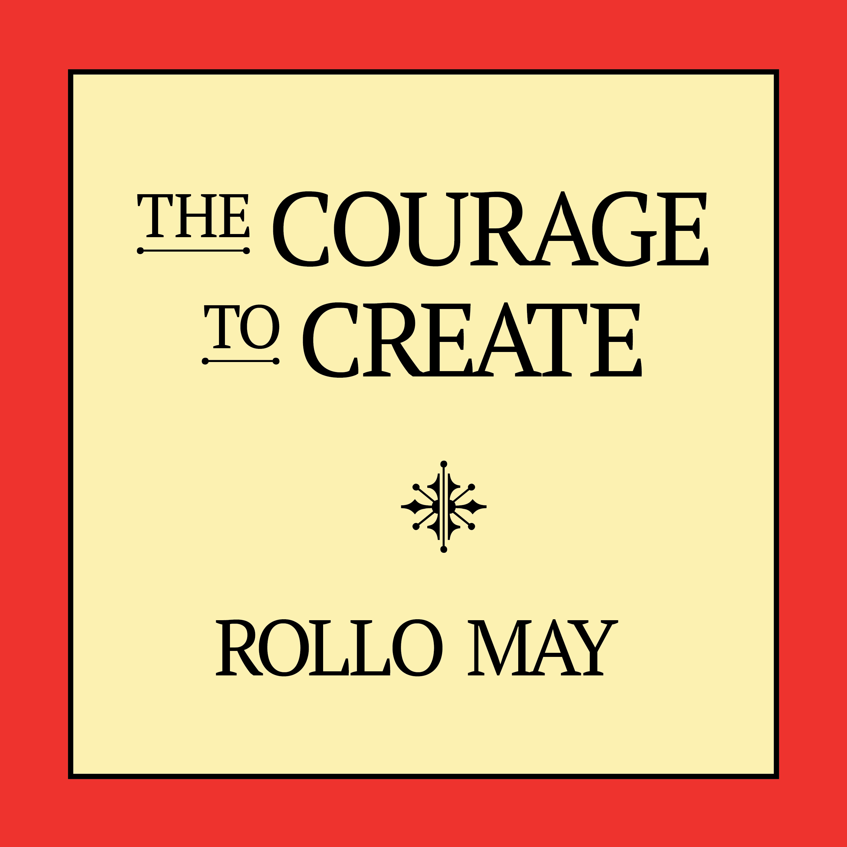 Printable The Courage to Create Audiobook Cover Art