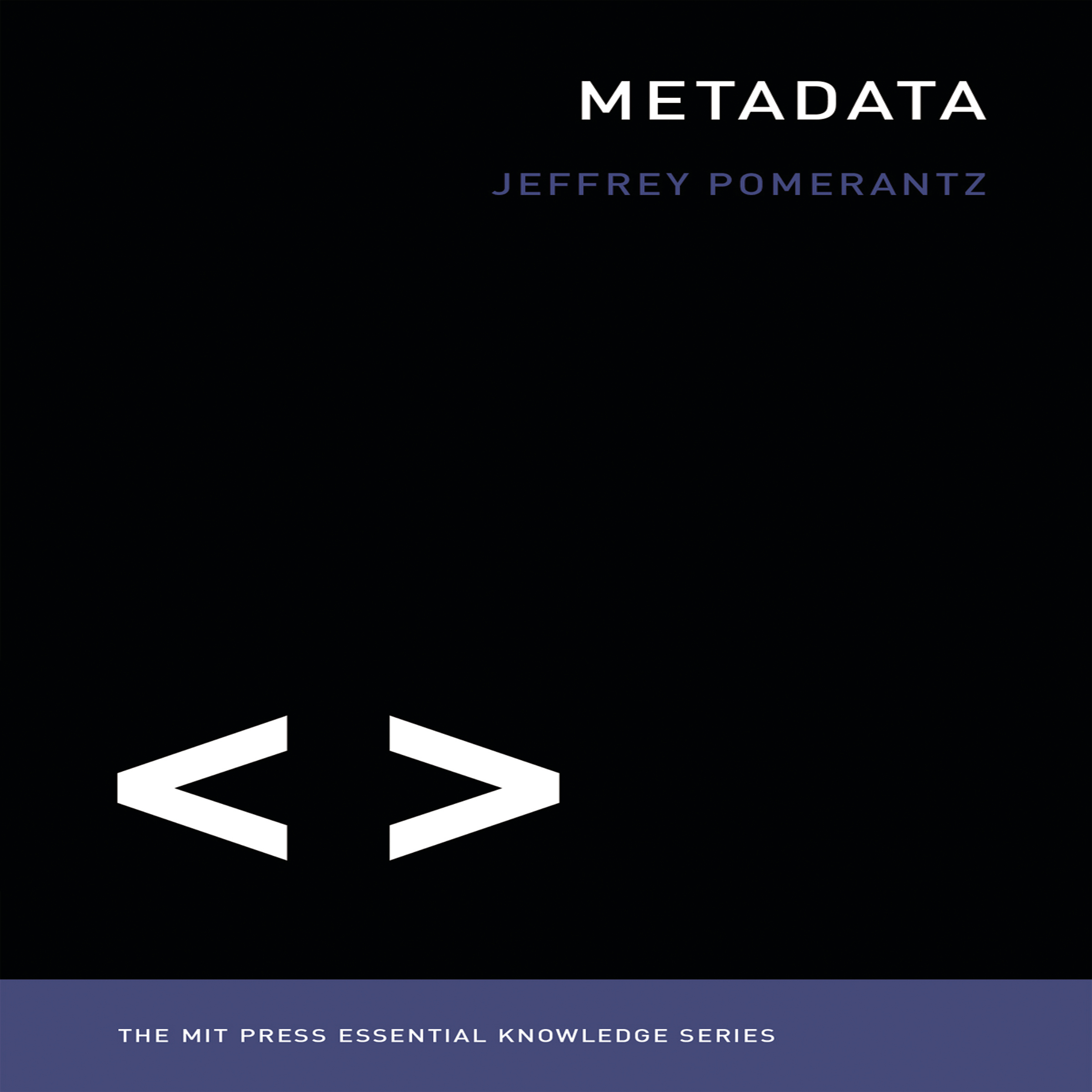 Printable Metadata: The MIT Press Essential Knowledge series Audiobook Cover Art