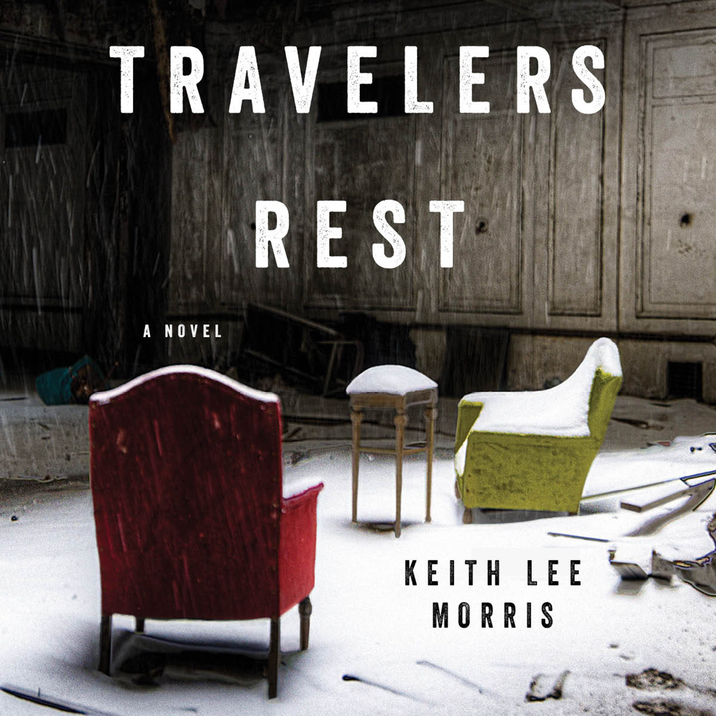 Printable Travelers Rest: A Novel Audiobook Cover Art