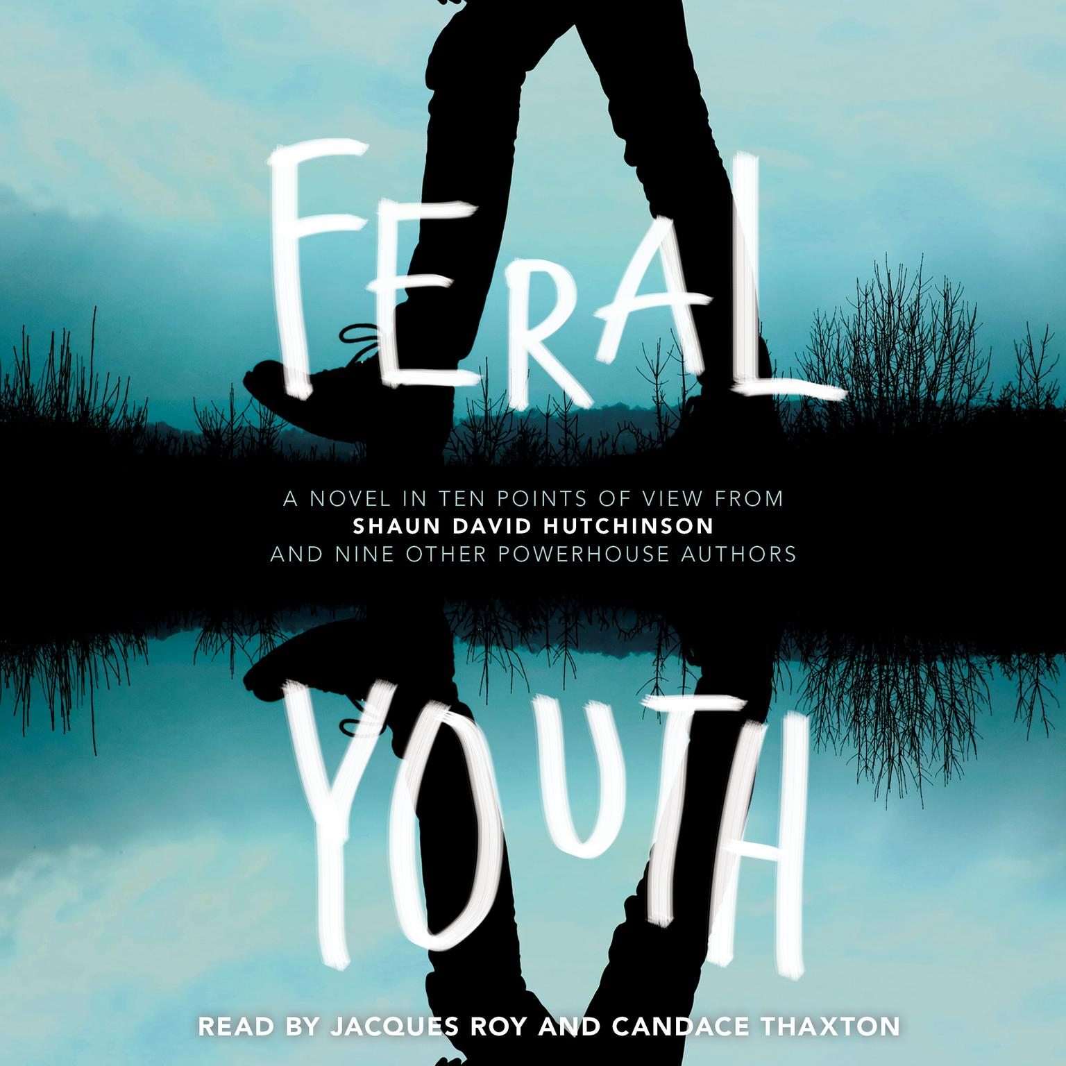 Printable Feral Youth Audiobook Cover Art