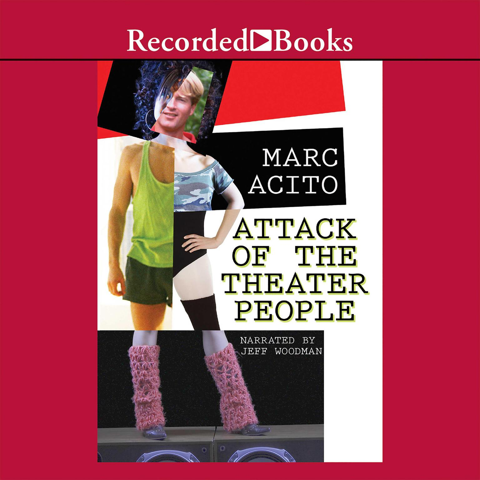 Printable Attack of the Theater People Audiobook Cover Art