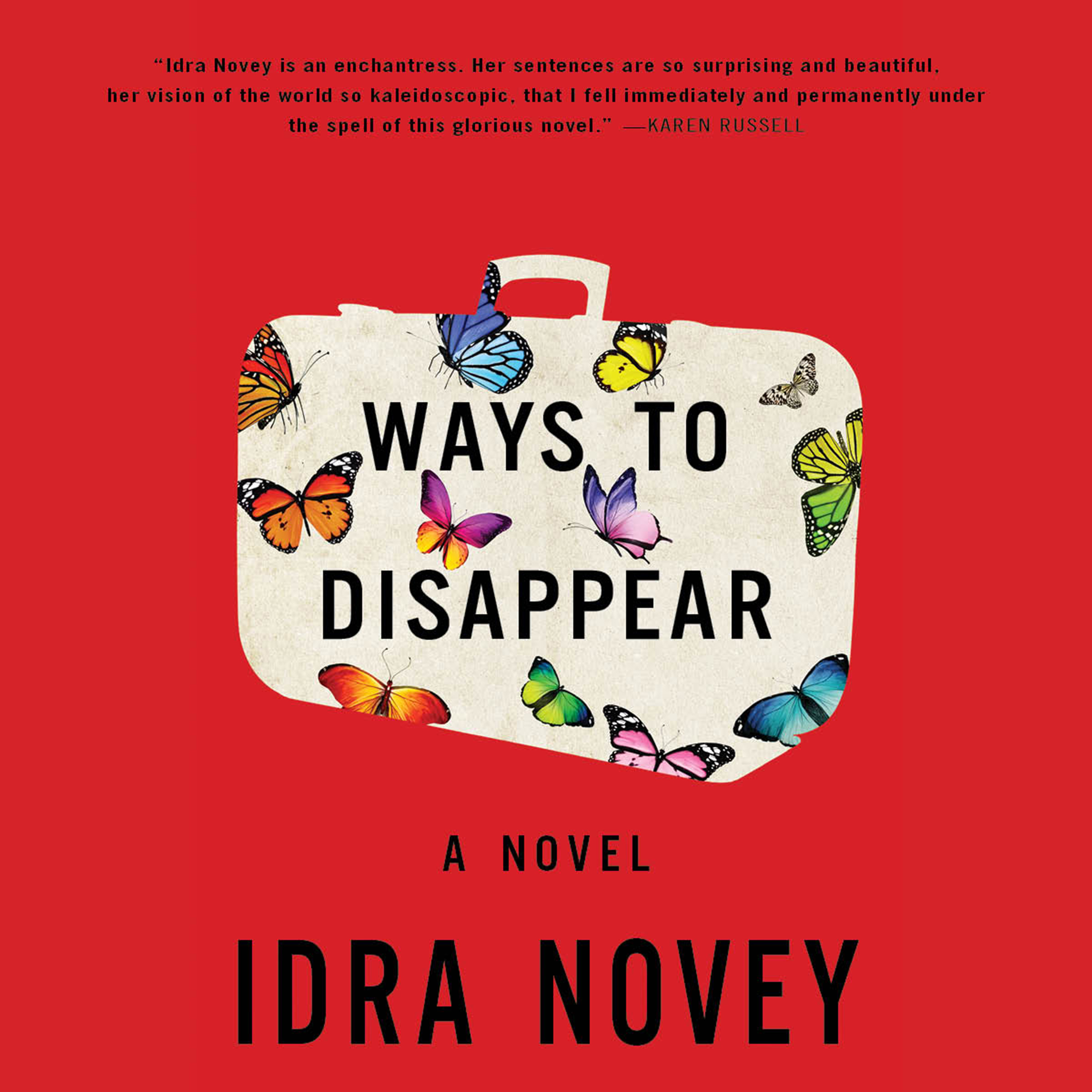 Printable Ways to Disappear: A Novel Audiobook Cover Art