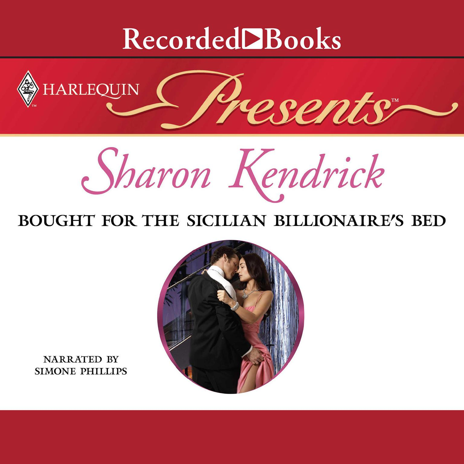 Printable Bought for the Sicilian Billionaire's Bed Audiobook Cover Art