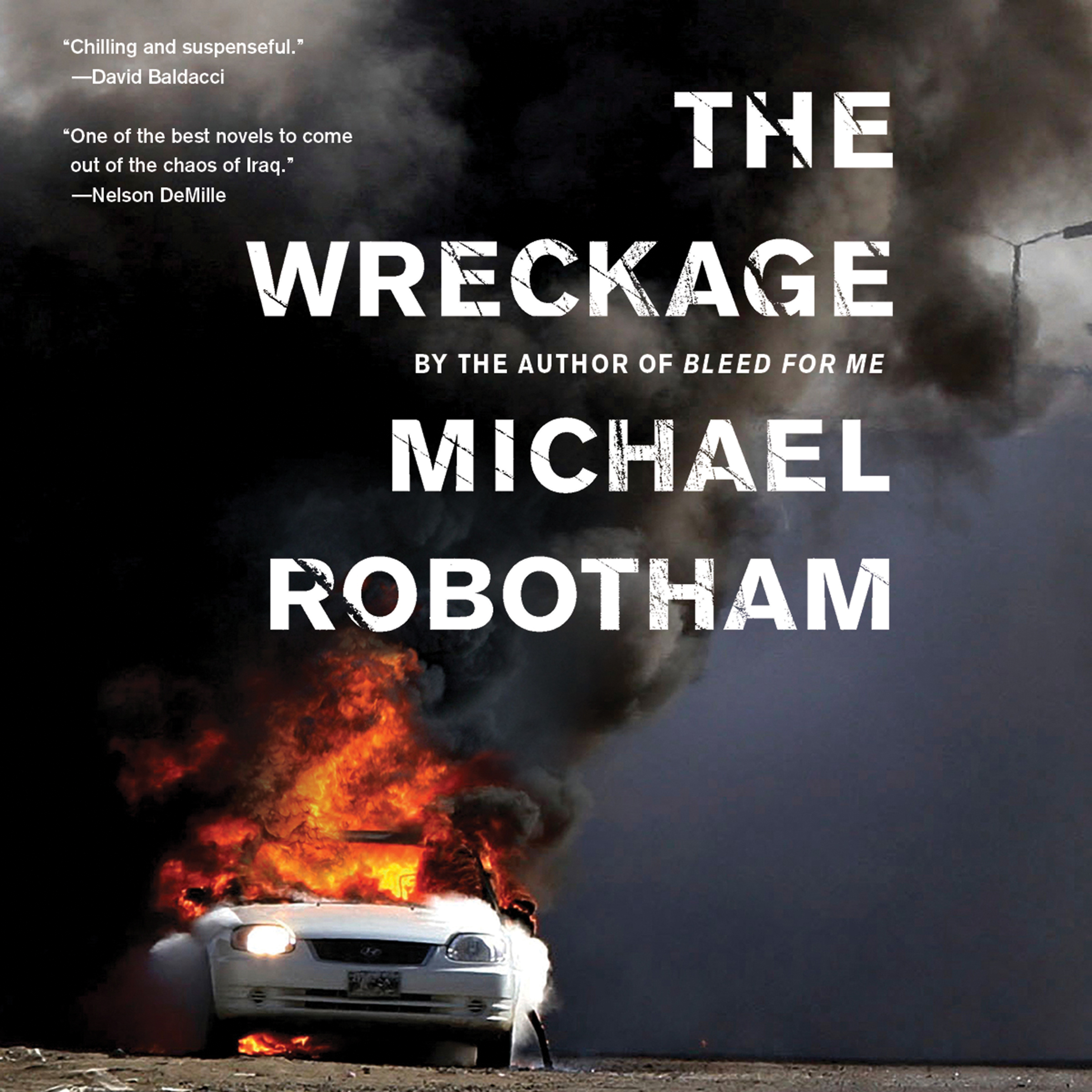 Printable The Wreckage Audiobook Cover Art