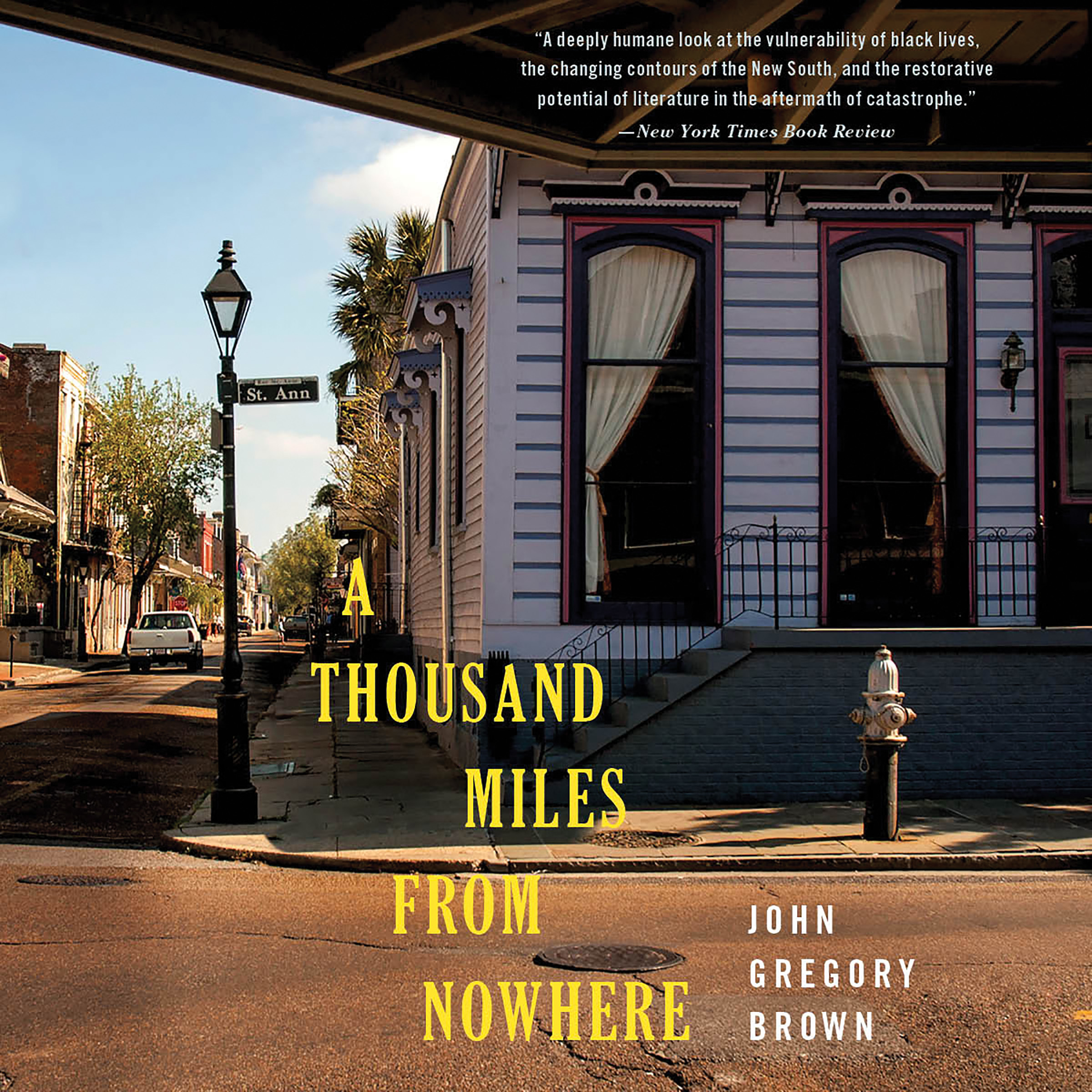 Printable A Thousand Miles from Nowhere Audiobook Cover Art