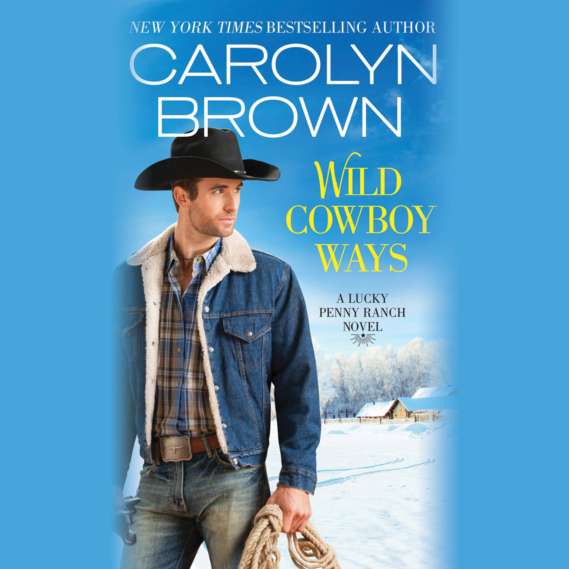 Printable Wild Cowboy Ways Audiobook Cover Art