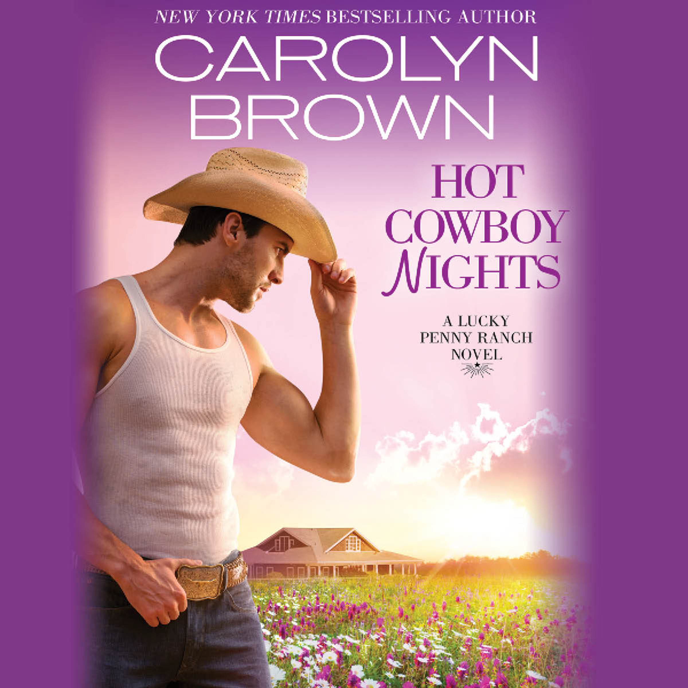 Printable Hot Cowboy Nights Audiobook Cover Art