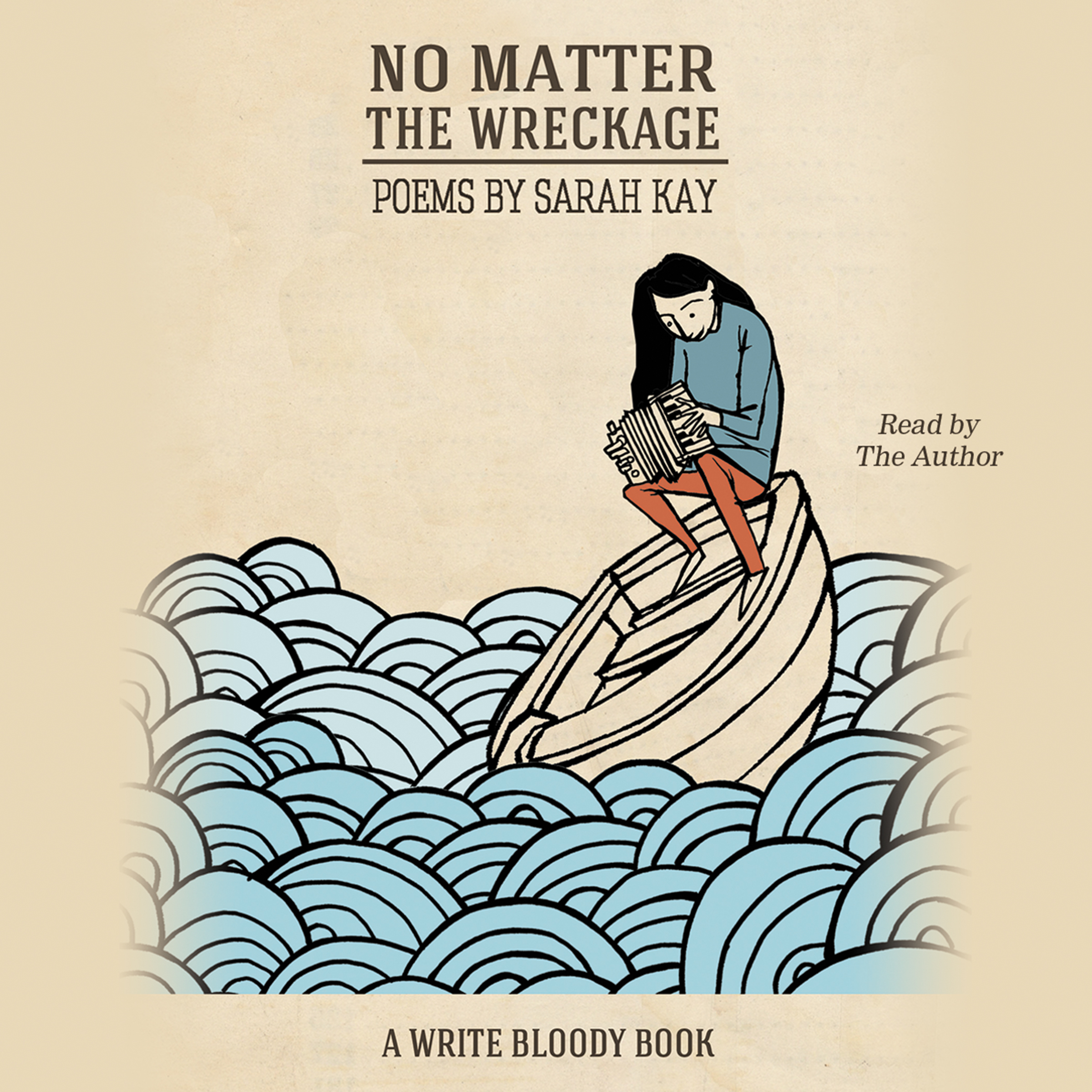 Printable No Matter the Wreckage Audiobook Cover Art