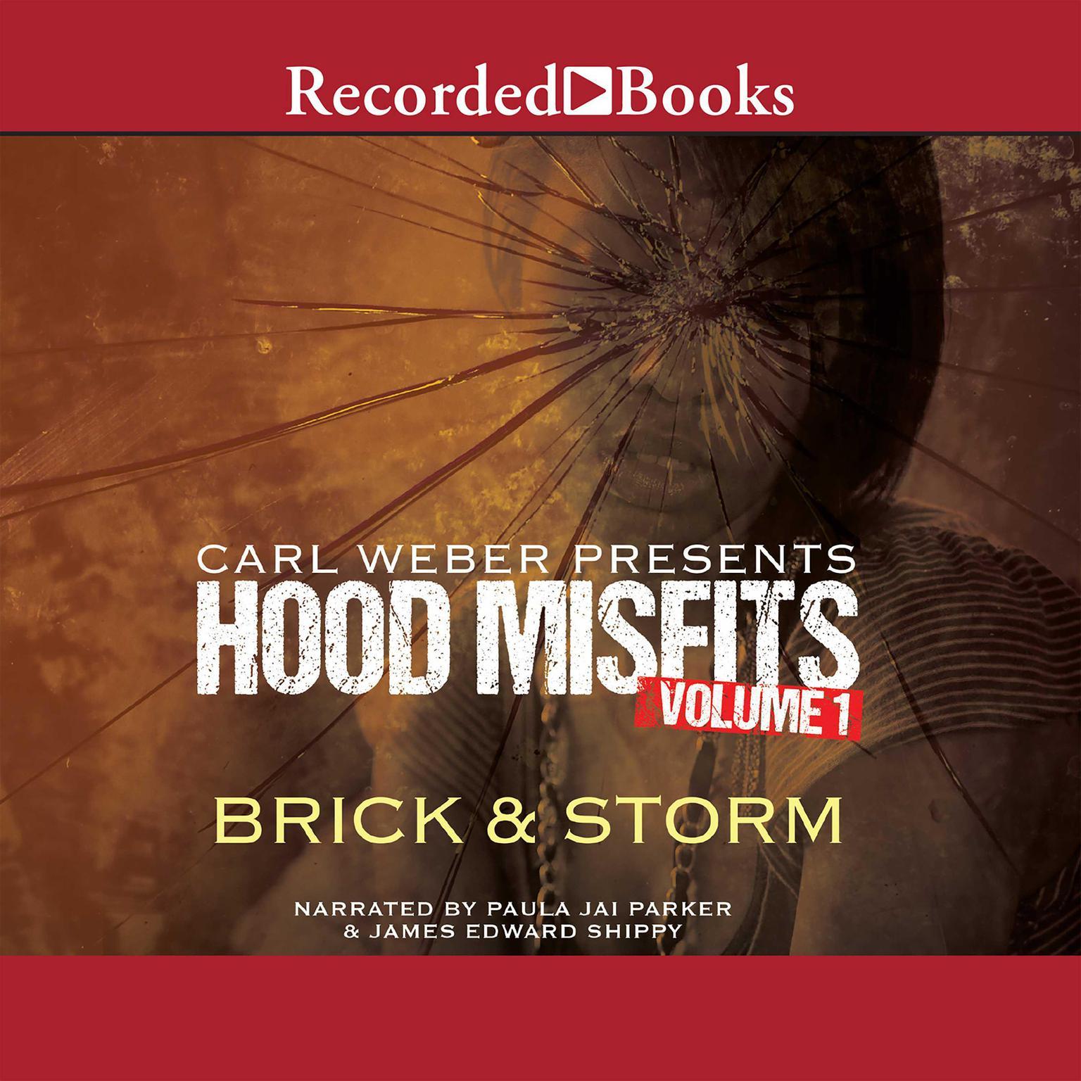 Printable Carl Weber Presents Hood Misfits, Volume 1 Audiobook Cover Art
