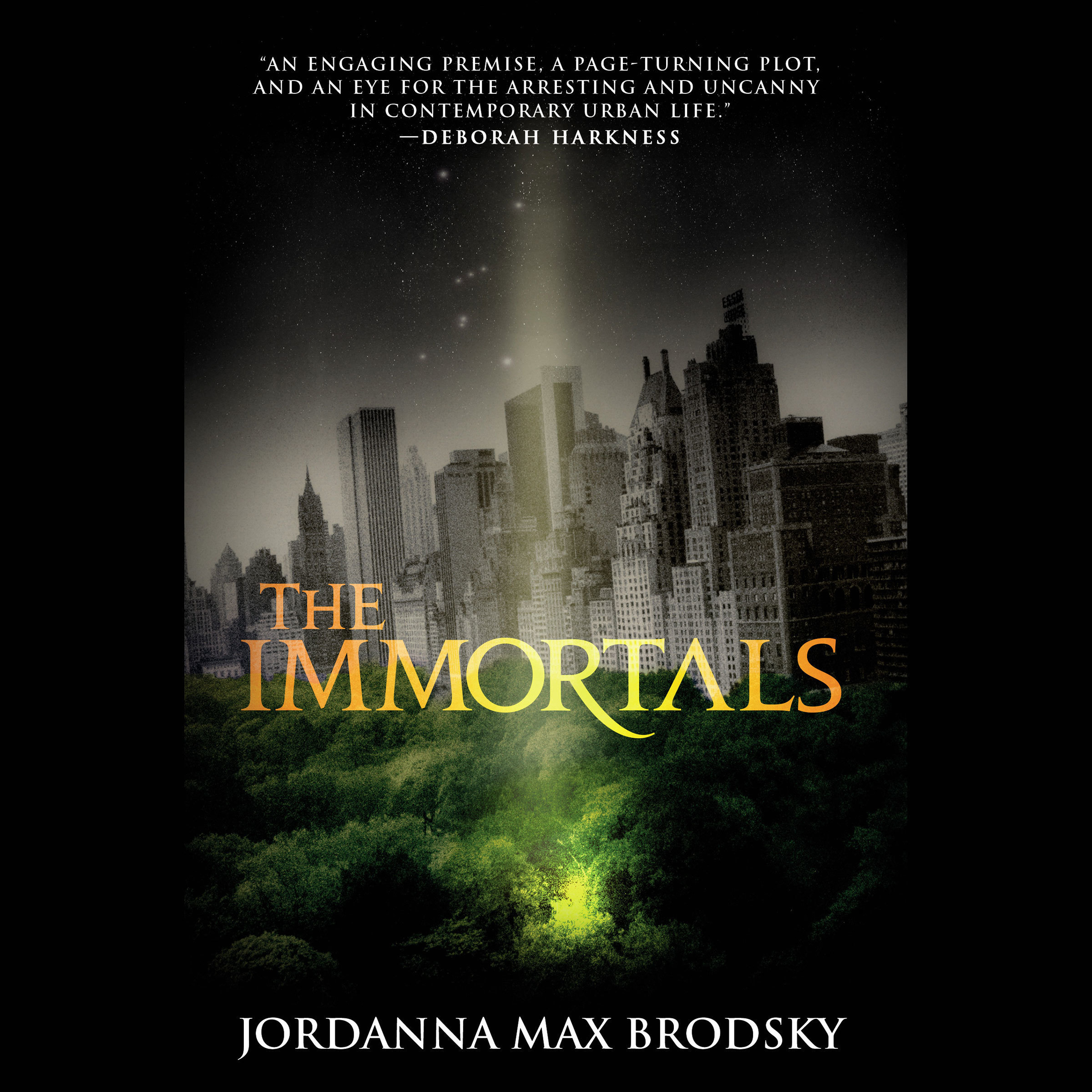 Printable The Immortals Audiobook Cover Art