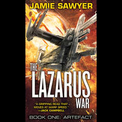 The Lazarus War: Artefact Audiobook, by Jamie Sawyer