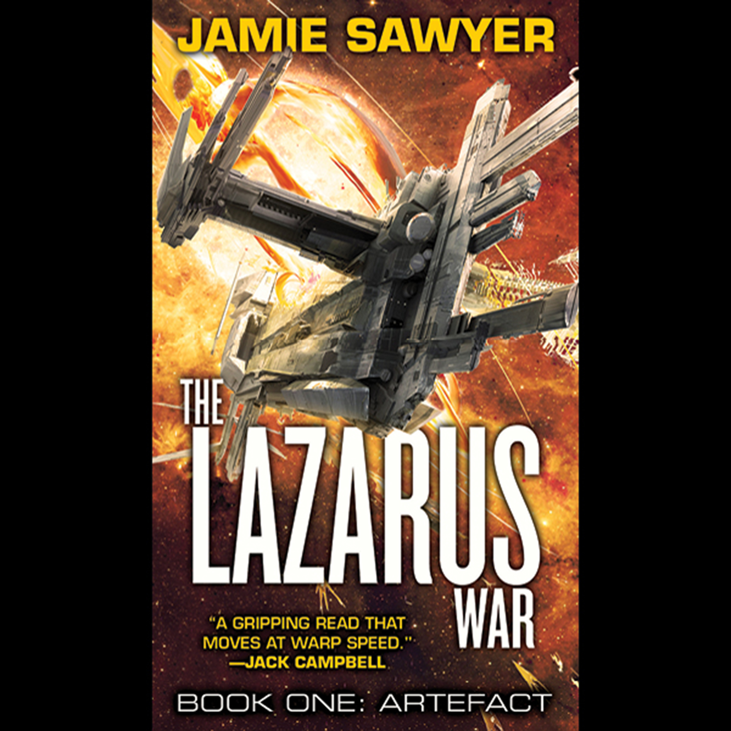 Printable The Lazarus War: Artefact Audiobook Cover Art
