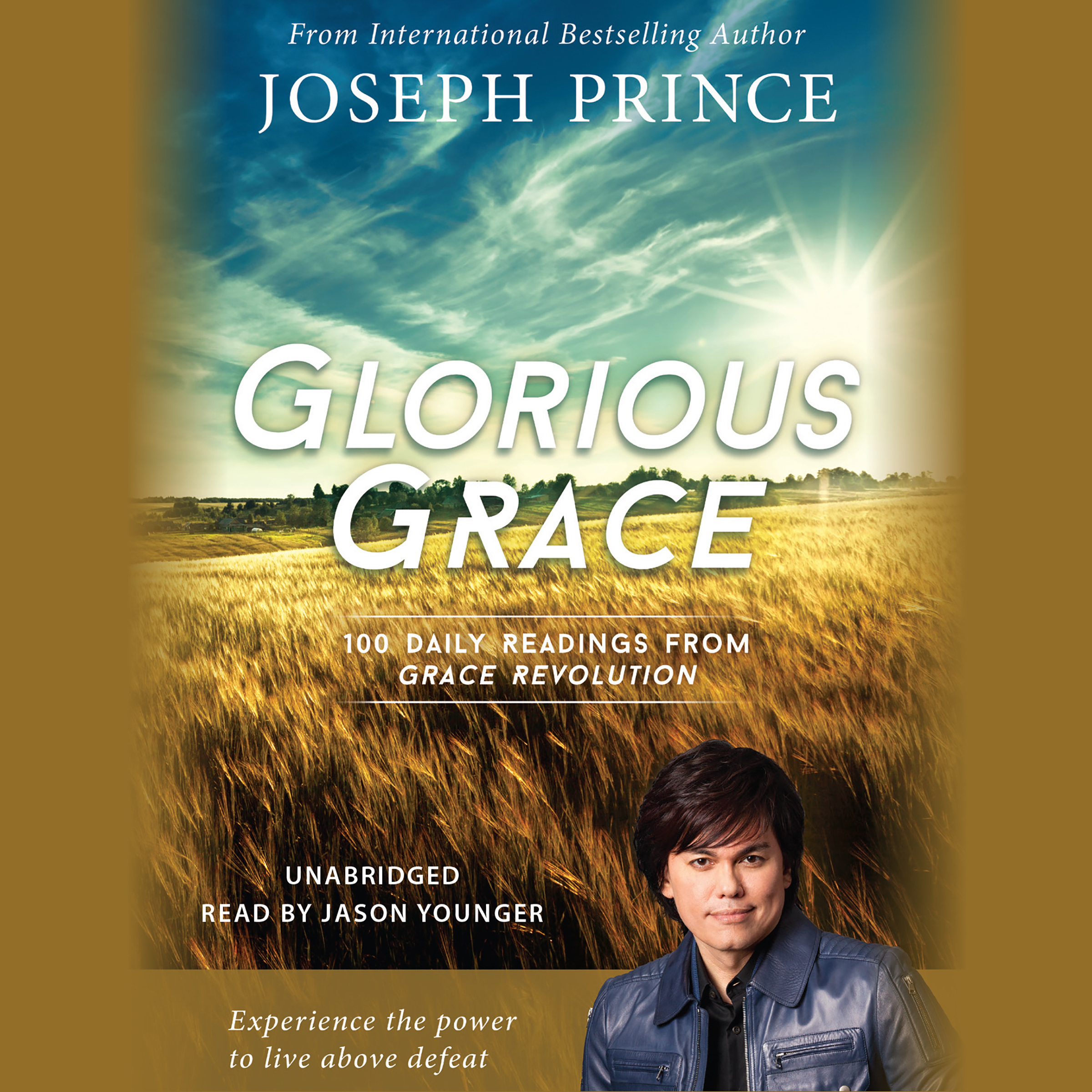 Printable Glorious Grace: 100 Daily Readings from Grace Revolution Audiobook Cover Art