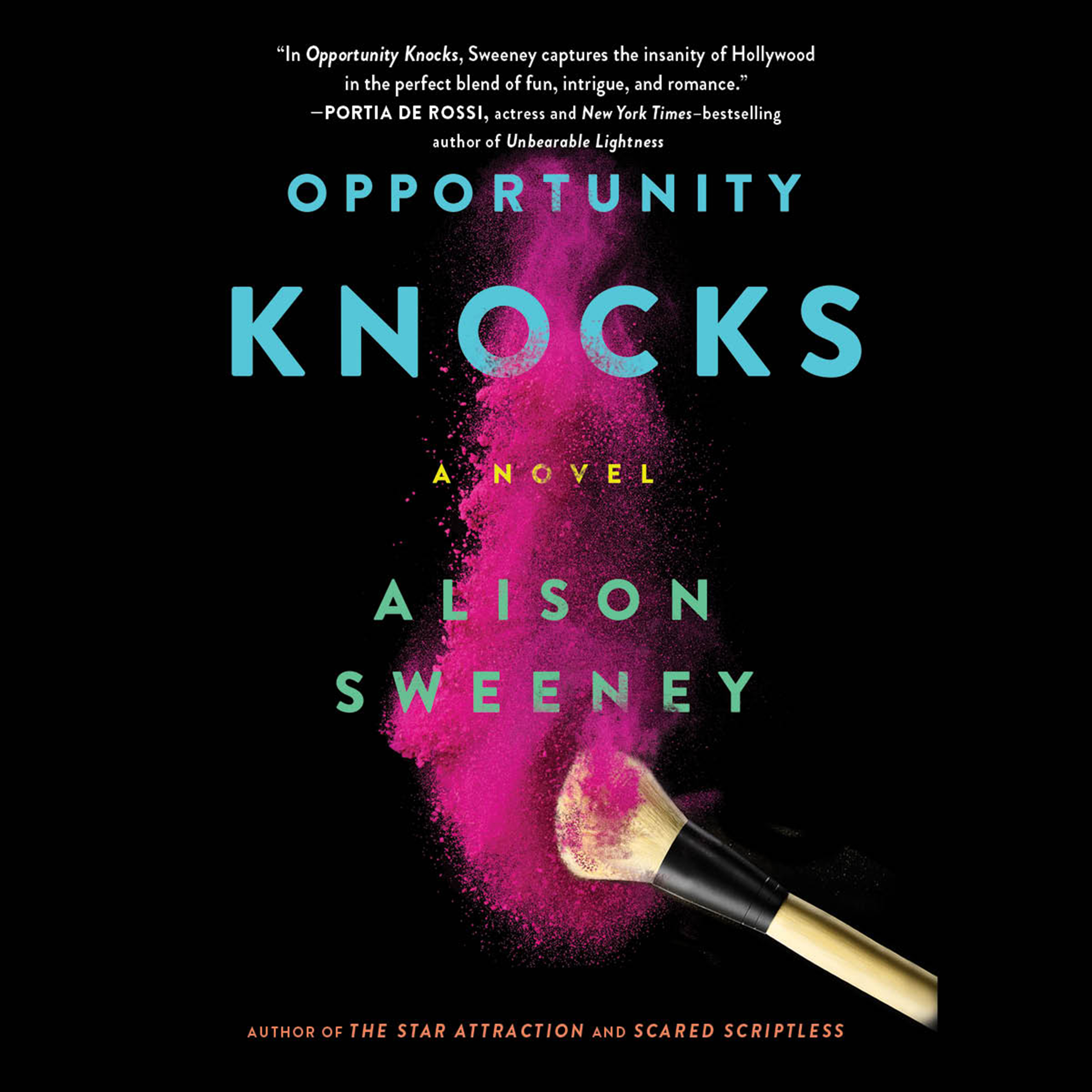 Printable Opportunity Knocks: A Novel Audiobook Cover Art