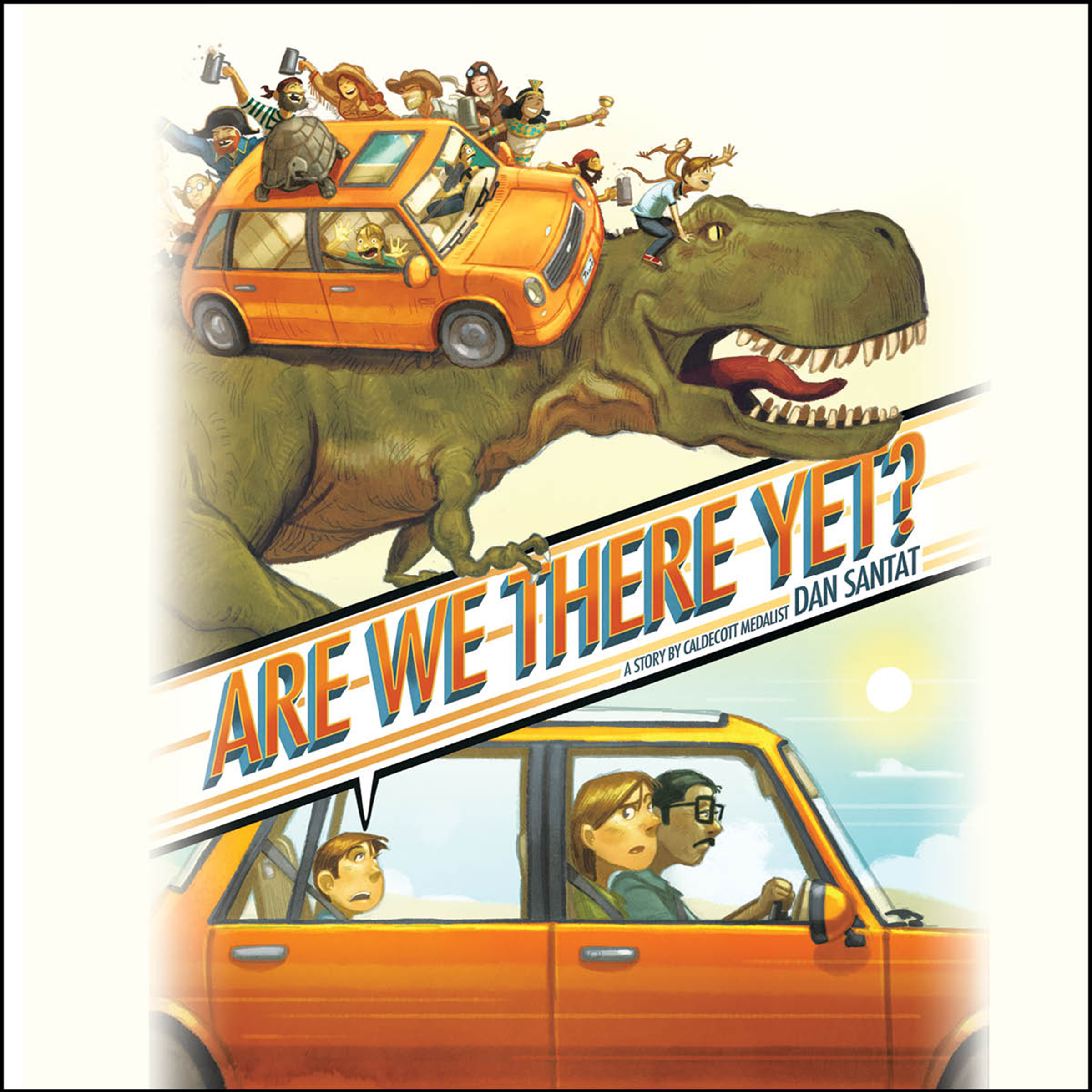Printable Are We There Yet? Audiobook Cover Art