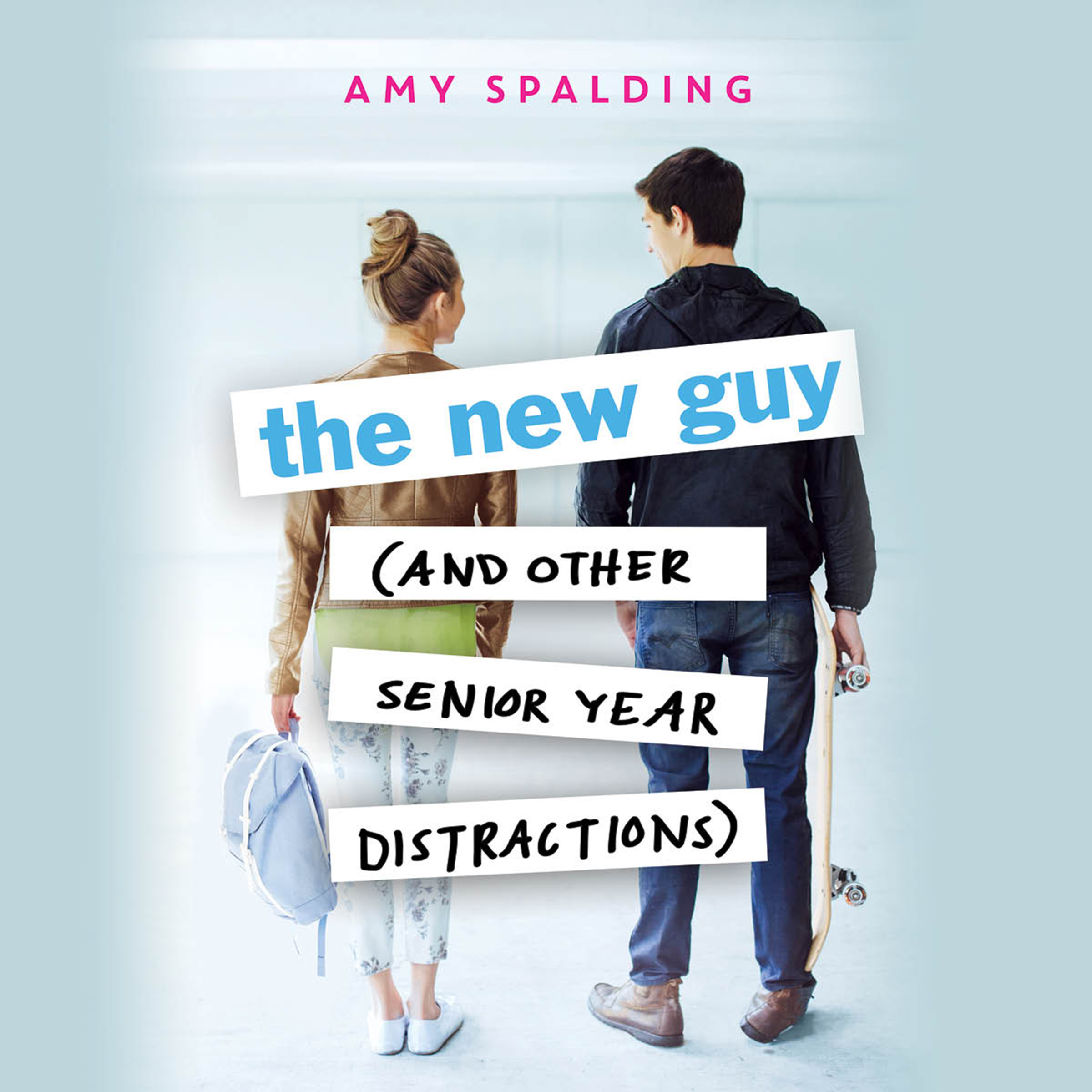 Printable The New Guy (and Other Senior Year Distractions) Audiobook Cover Art