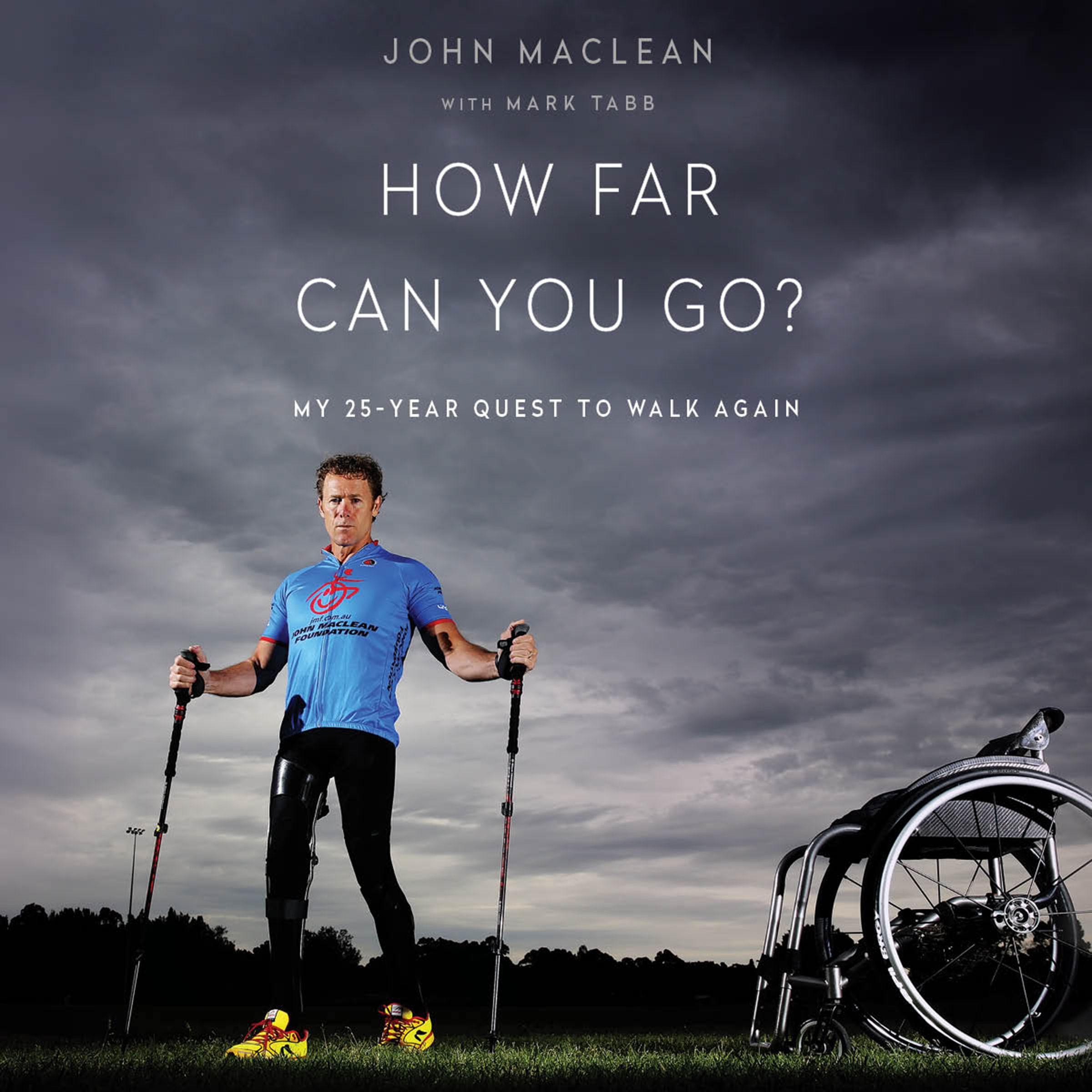 Printable How Far Can You Go?: My 25-Year Quest to Walk Again Audiobook Cover Art